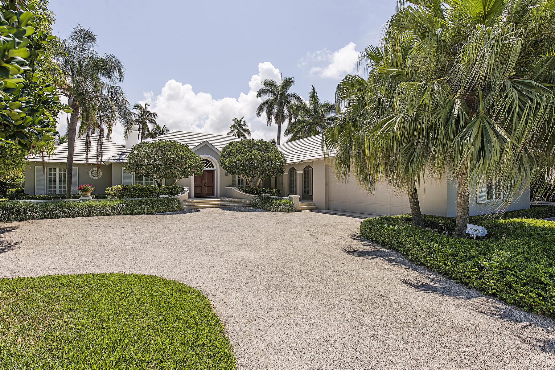独户住宅 为 出租 在 PORT ROYAL 3323 Gin Ln 那不勒斯, 佛罗里达州 34102 美国