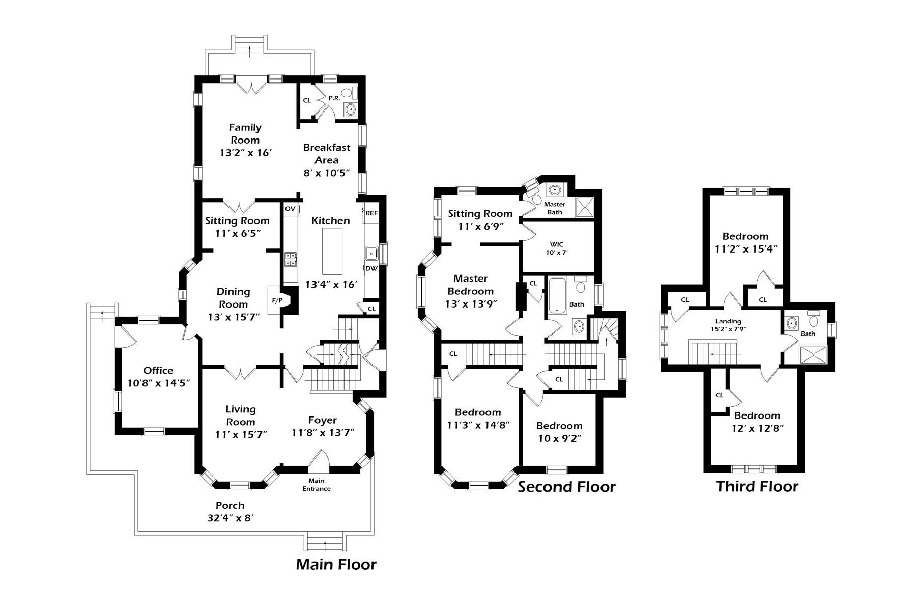 Maison unifamiliale pour l Vente à 370 N Village Ave 370 N Village Ave Rockville Centre, New York 11570 États-Unis