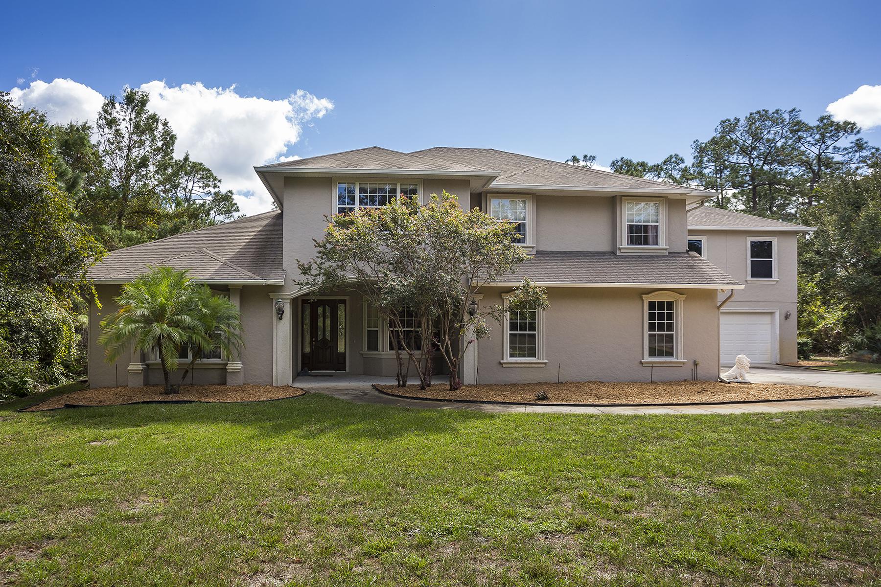 Частный односемейный дом для того Продажа на ORLANDO - GENEVA 1136 Apache Dr Geneva, Флорида, 32732 Соединенные Штаты