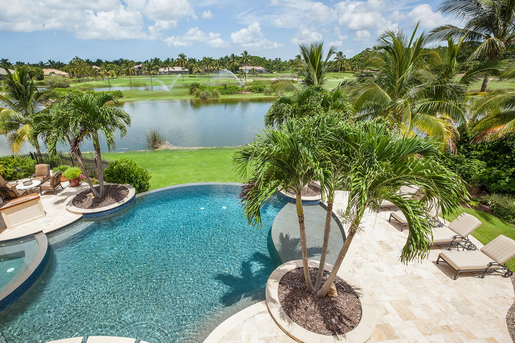 獨棟家庭住宅 為 出售 在 GREY OAKS - ISLE ROYALE 2121 Canna Way Naples, 佛羅里達州 34105 美國