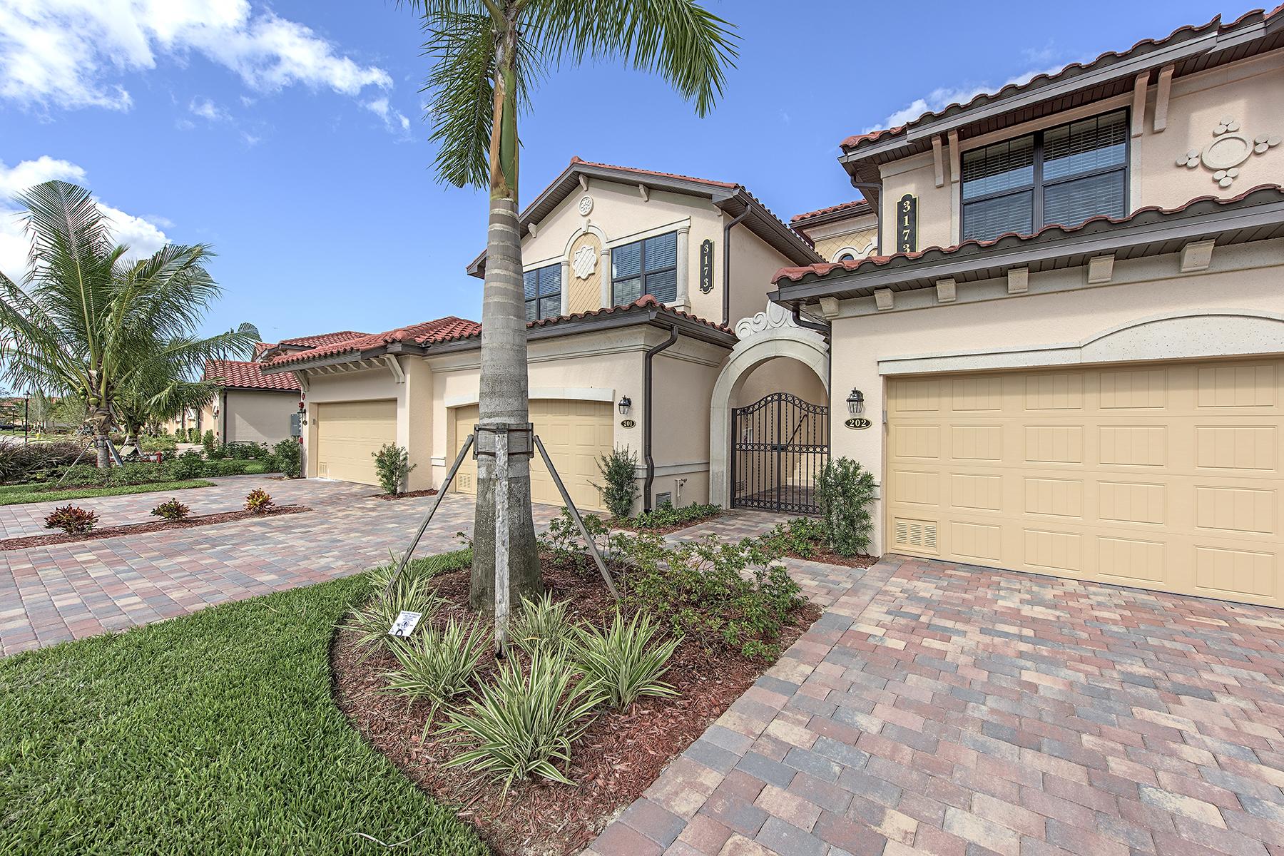 Appartement en copropriété pour l Vente à FIDDLERS CREEK 3173 Aviamar Cir 201 Naples, Florida, 34114 États-Unis