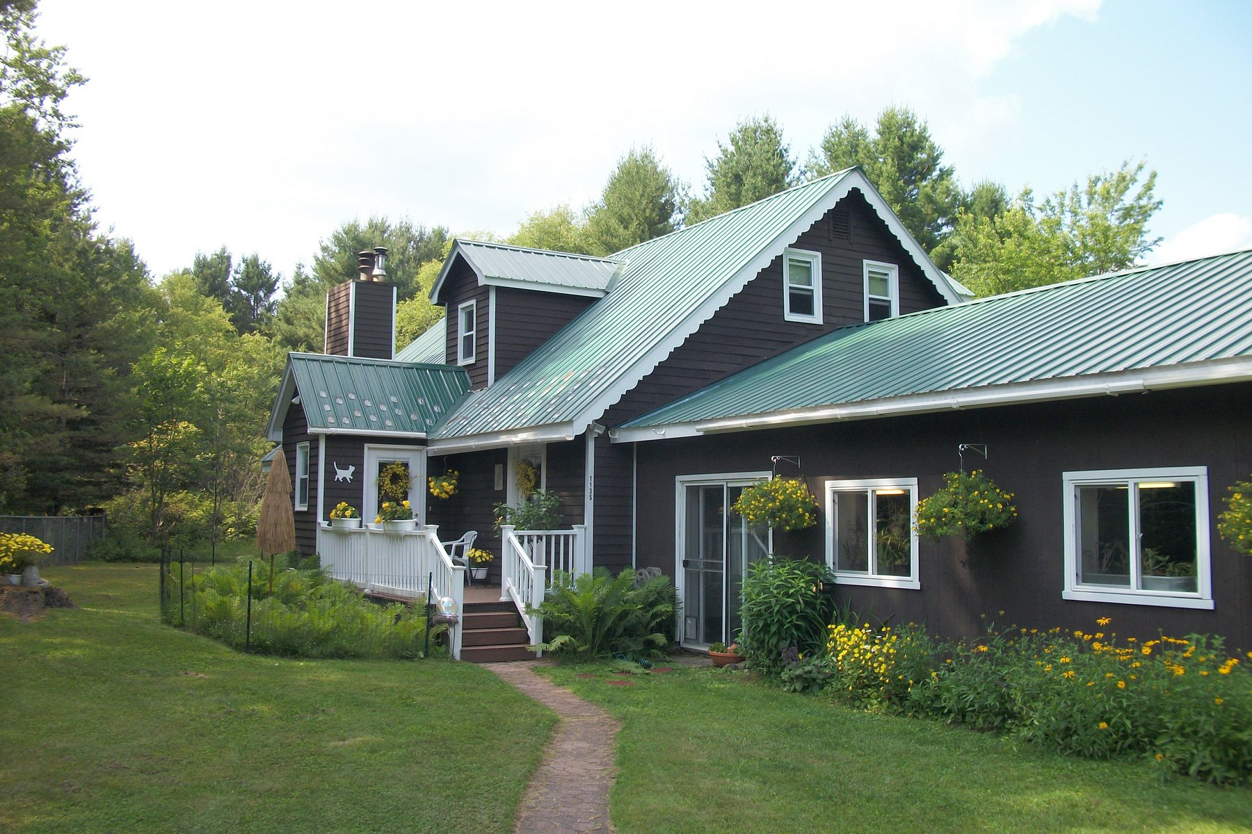 Single Family Home for Sale at Adirondack Foothills Year Round Cape Cod 1135 Figert Rd Ohio, New York 13324 United States