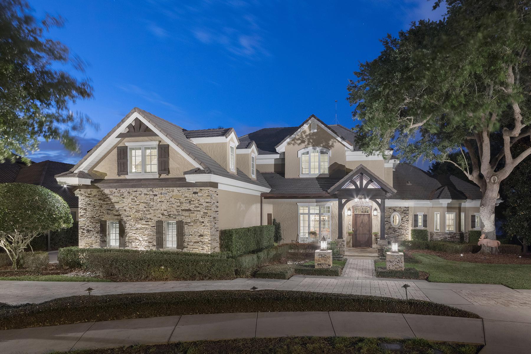 独户住宅 为 销售 在 WINTER PARK - FLORIDA 1653 Chase Landing Way 温特帕克, 佛罗里达州, 32789 美国