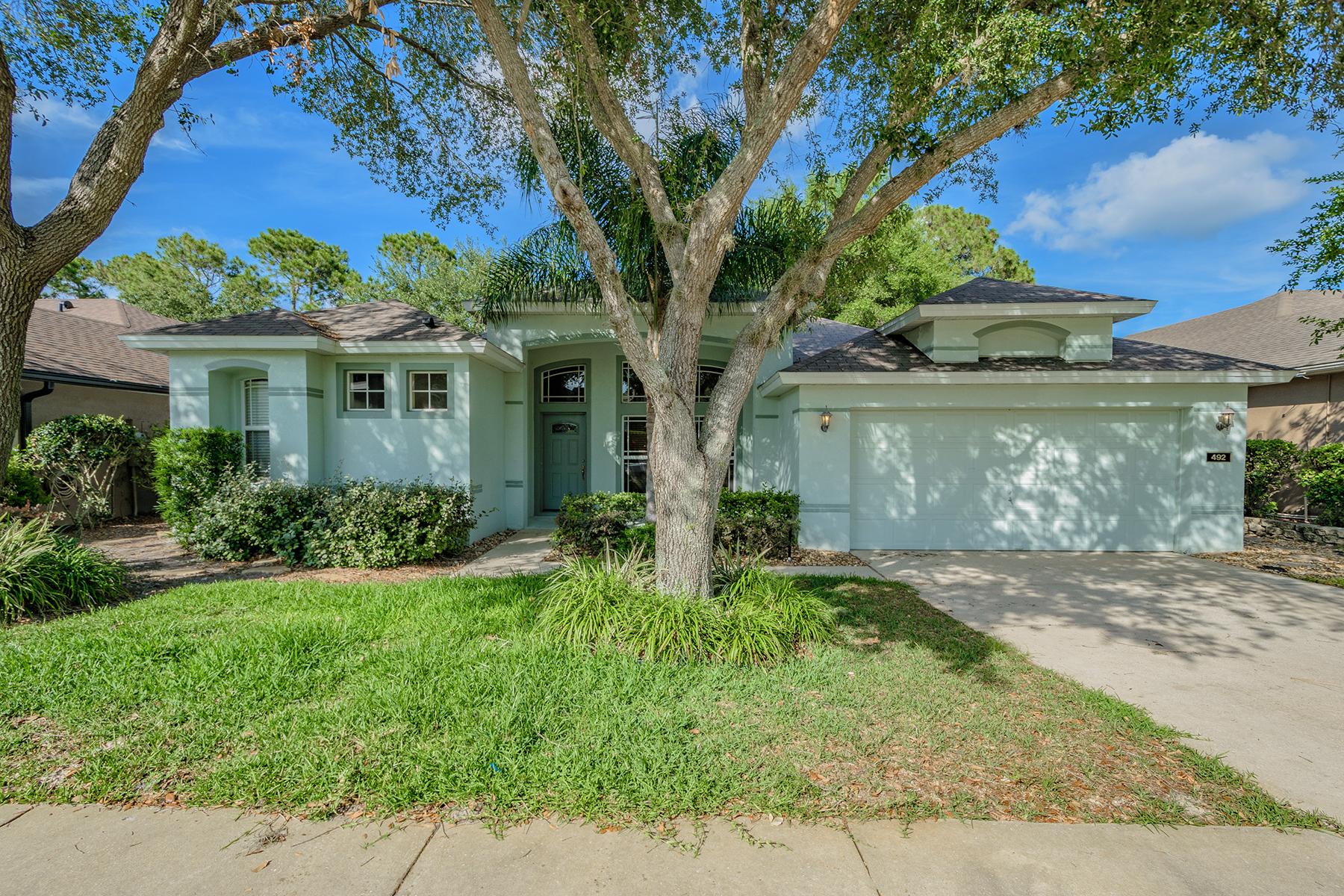 단독 가정 주택 용 매매 에 NORTH ORLANDO - WOODBRIDGE LAKES 492 Pickfair Terr Lake Mary, 플로리다, 32746 미국