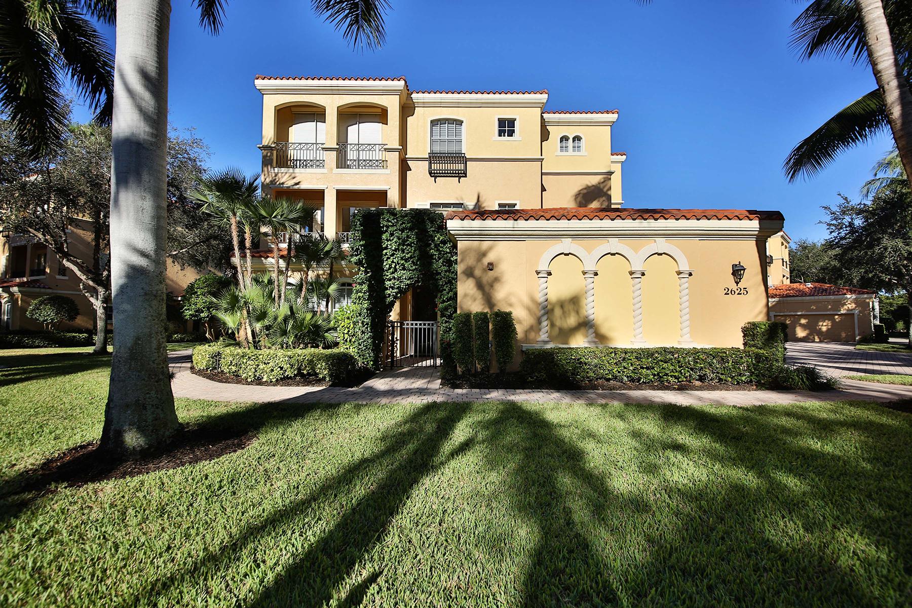 Condominium for Rent at TIBURON - BOLERO 2625 Estrella Ct 15-2, Naples, Florida 34109 United States