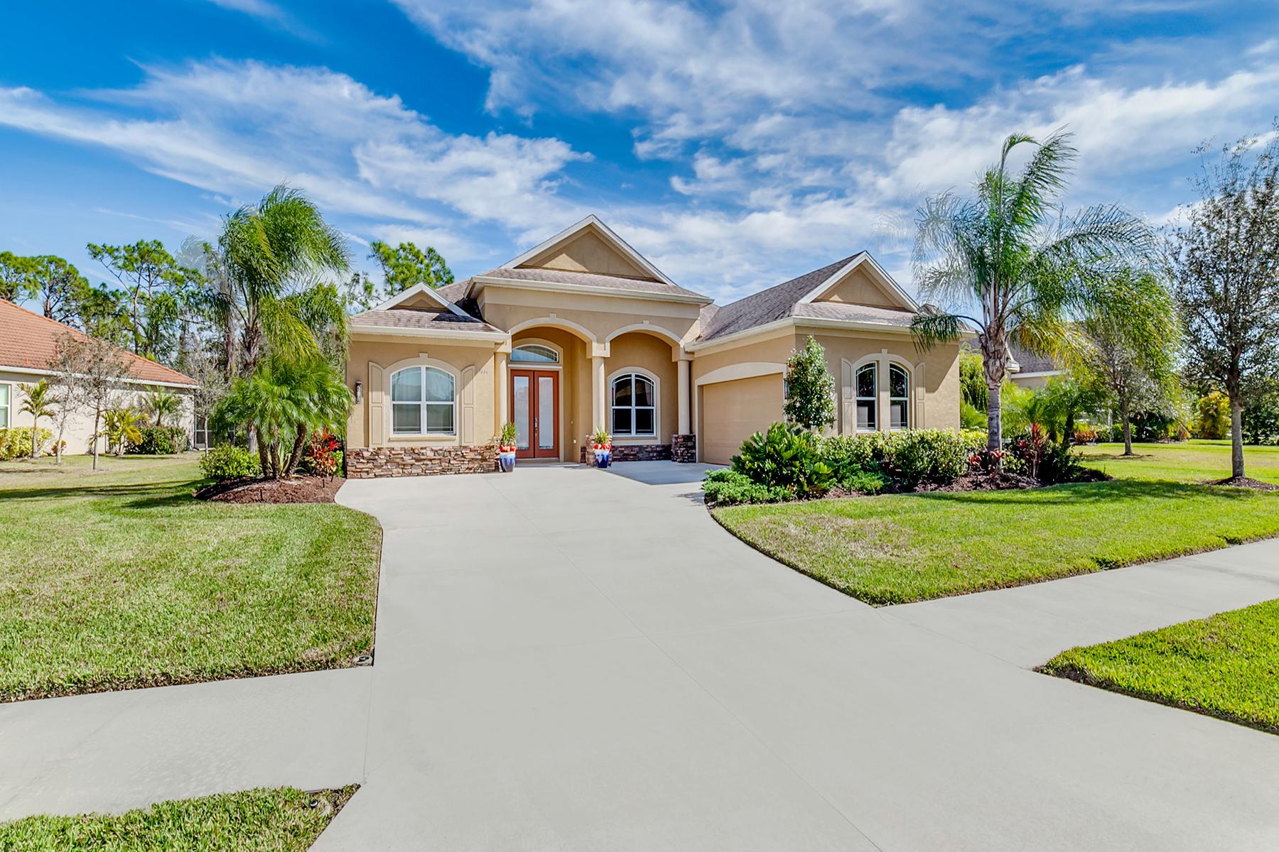 واحد منزل الأسرة للـ Sale في STONEWALK 19664 Cobblestone Cir, Venice, Florida, 34292 United States