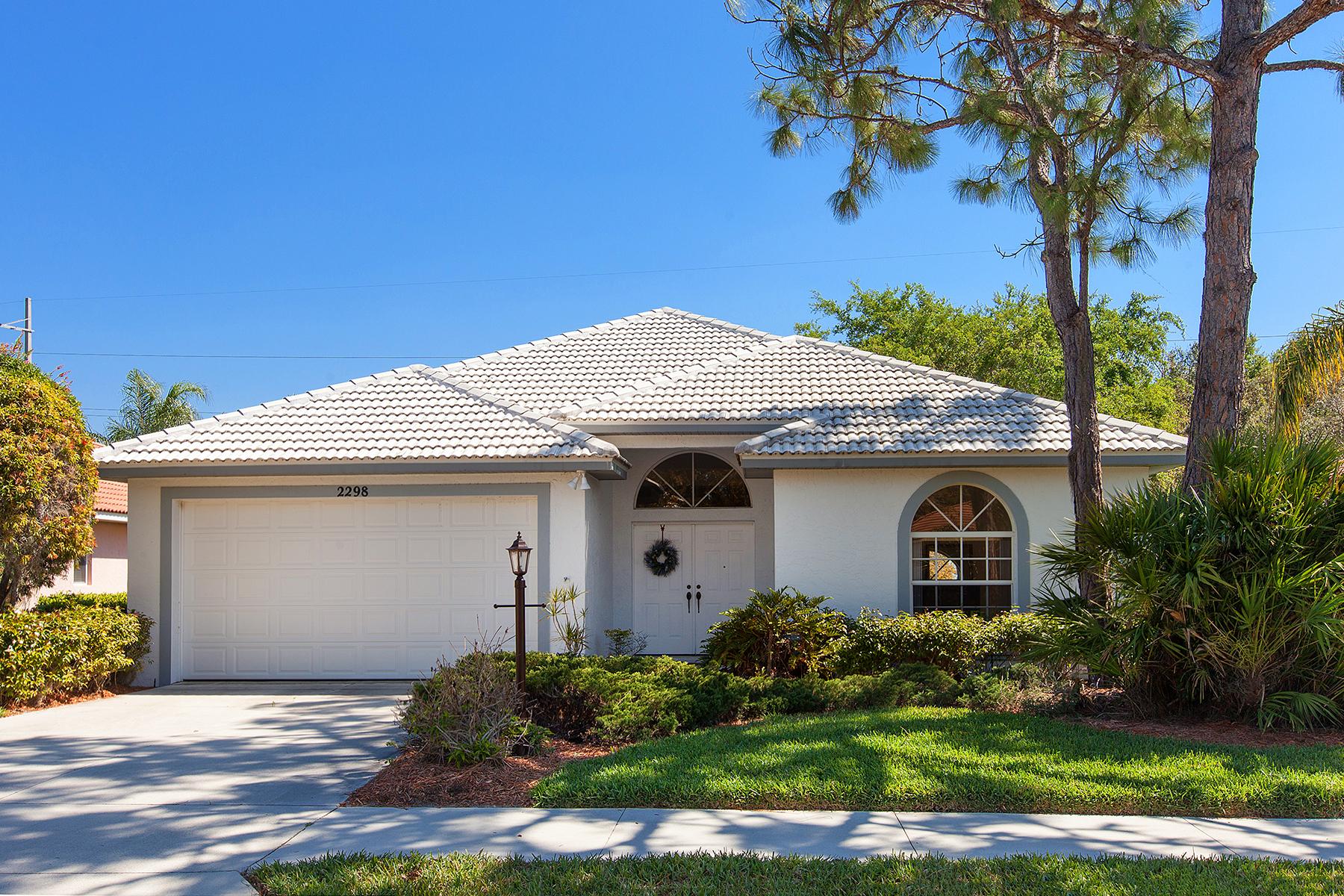 獨棟家庭住宅 為 出售 在 CALUSA LAKES 2298 Harrier Way, Nokomis, 佛羅里達州, 34275 美國