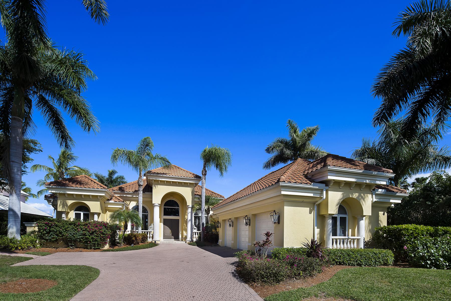 Maison unifamiliale pour l Vente à Naples 4223 Cutlass Ln Port Royal, Naples, Florida, 34102 États-Unis