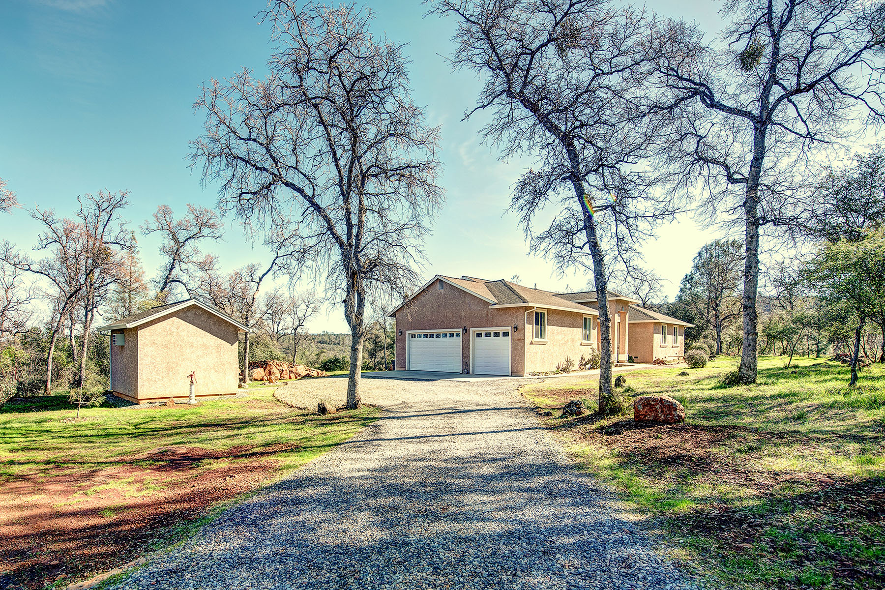 Single Family Home for Sale at Elegant Country Living on over Fifteen Serene Acres 28628 Alpine Way Shingletown, California 96088 United States