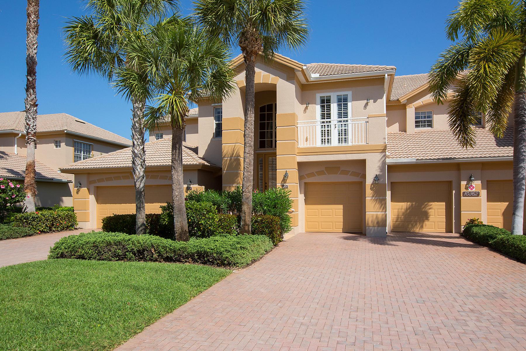Condomínio para Venda às SHADOW WOOD AT THE BROOKS - OAK HAMMOCK 10362 Autumn Breeze Dr 201 Estero, Florida 34135 Estados Unidos