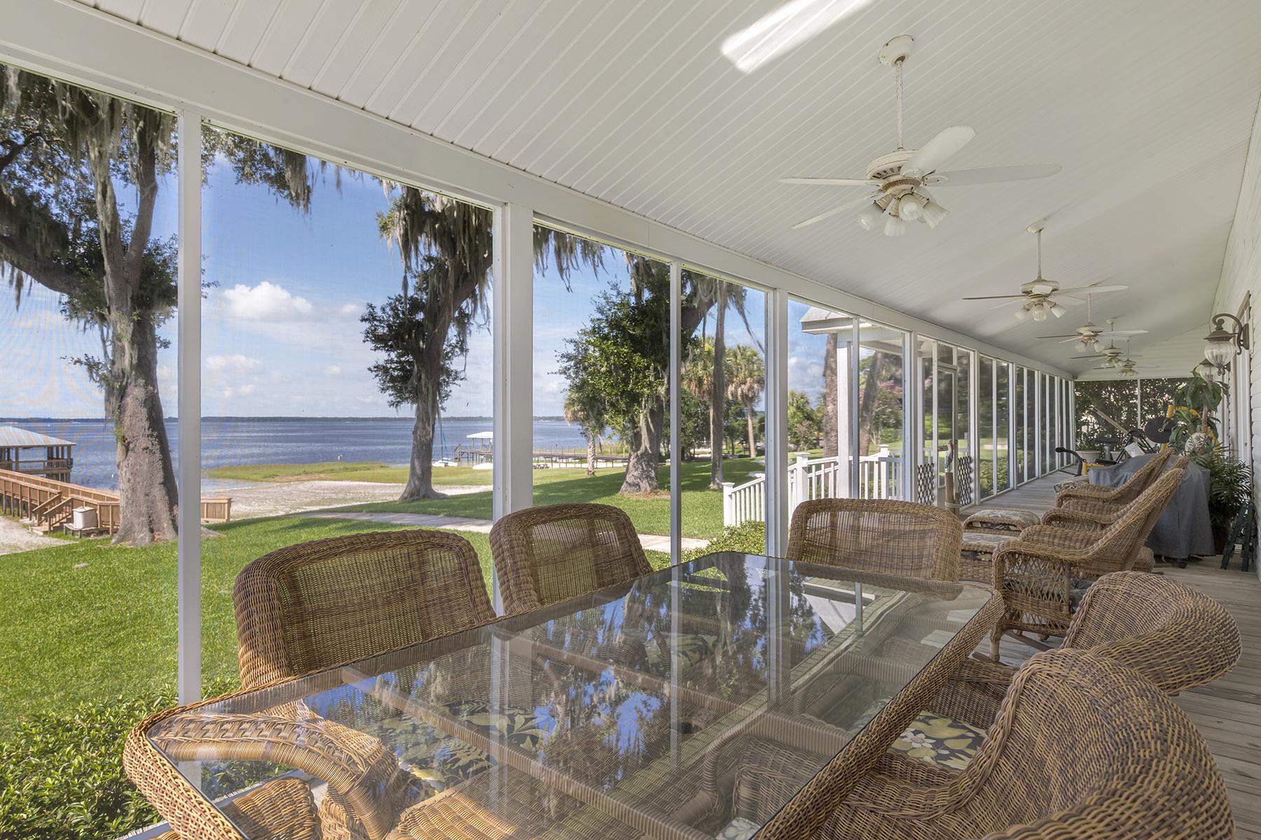 Частный односемейный дом для того Продажа на Ocala-Ocklawaha 12730 E Highway 25 Ocklawaha, Флорида, 32179 Соединенные Штаты