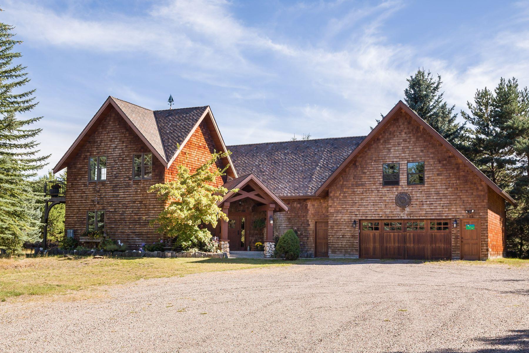 단독 가정 주택 용 매매 에 1310 Mccaffery Rd , Bigfork, MT 59911 1310 Mccaffery Rd Bigfork, 몬타나, 59911 미국
