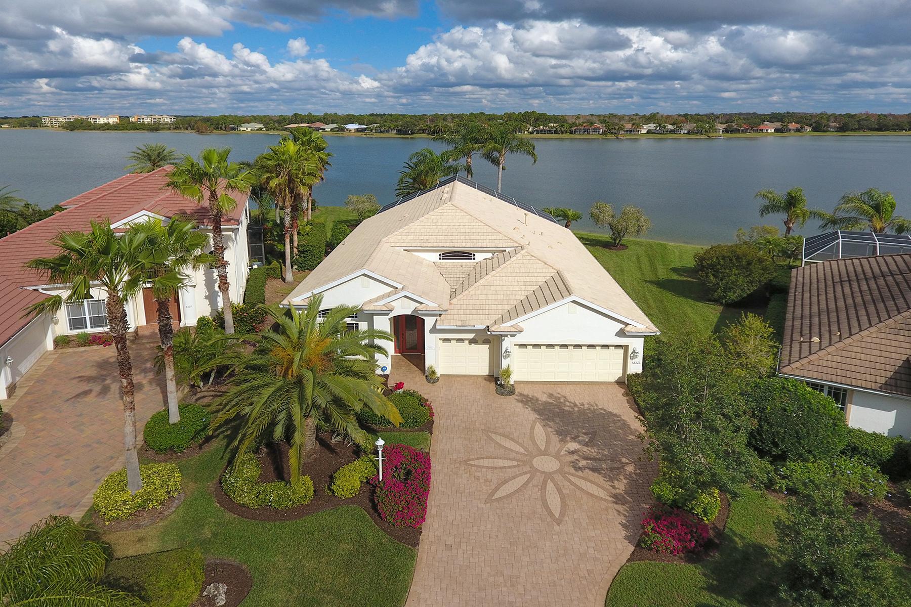 独户住宅 为 销售 在 EDGEWATER VILLAGE 8325 Sailing Loop, 莱克伍德牧场, 佛罗里达州, 34202 美国