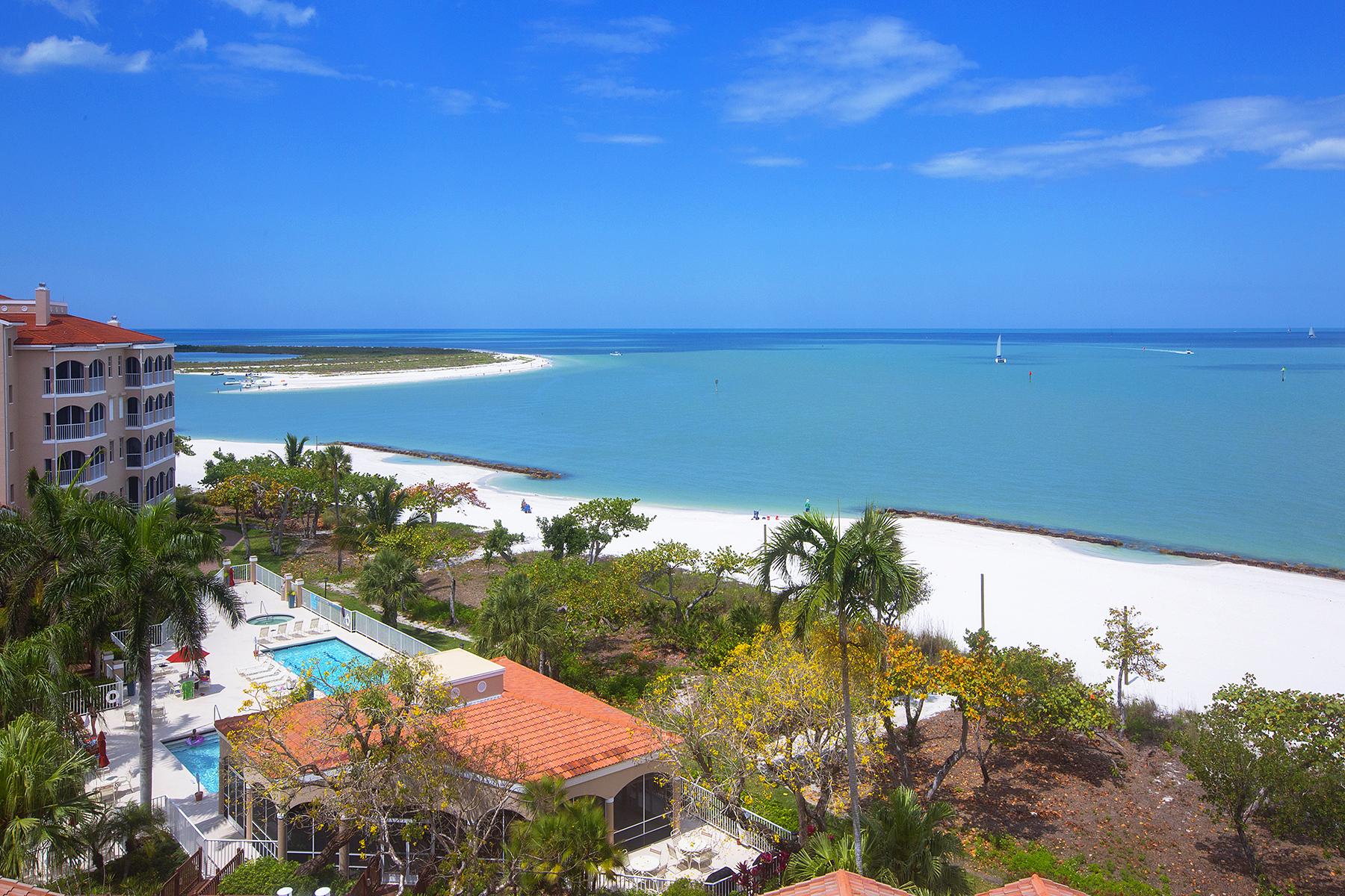共管物業 為 出售 在 HIDEAWAY BEACH 3000 Royal Marco Way 614 Marco Island, 佛羅里達州, 34145 美國