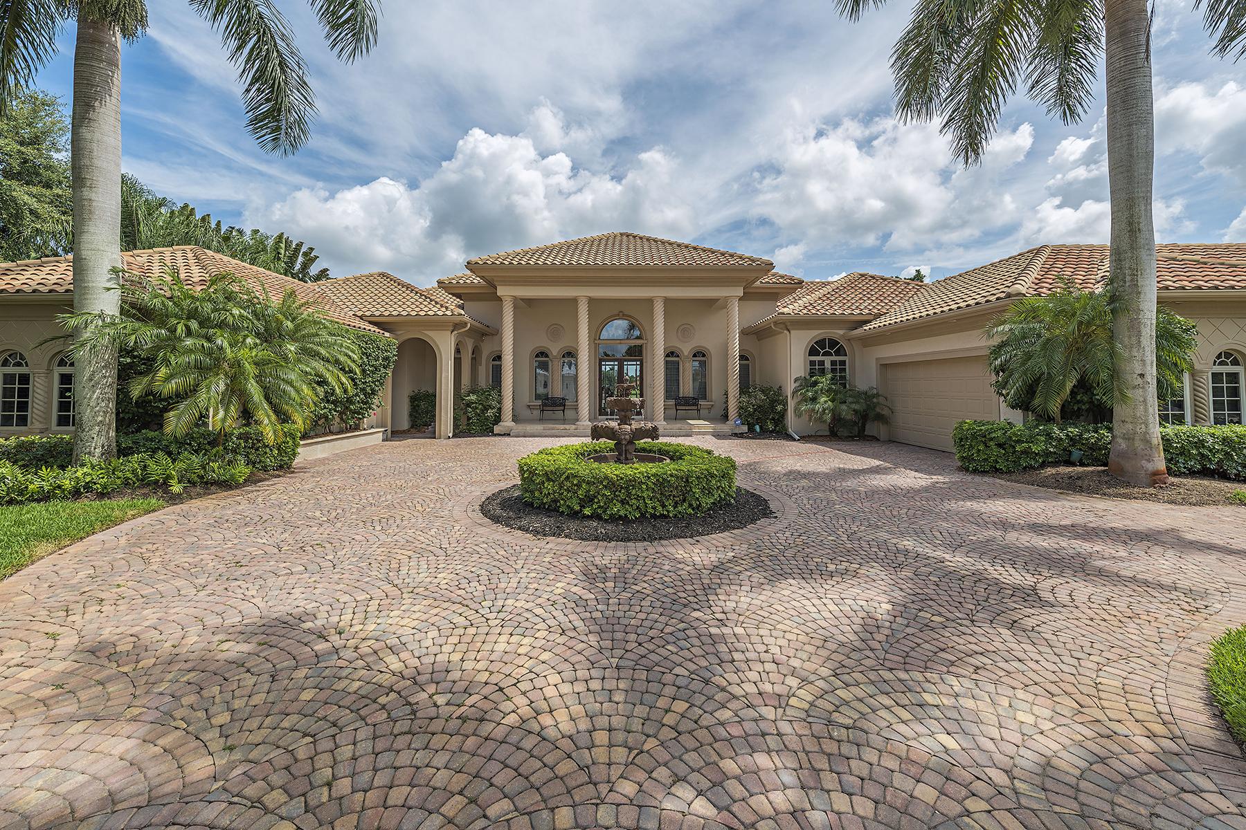 단독 가정 주택 용 매매 에 13751 Pondview Cir , Naples, FL 34119 13751 Pondview Cir Naples, 플로리다, 34119 미국