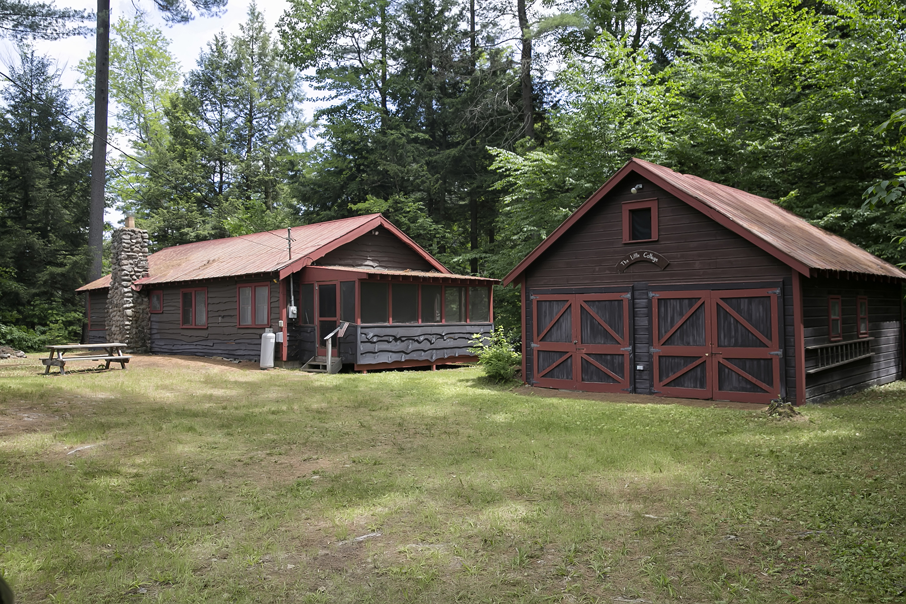 Single Family Home for Sale at Southern Adirondack Camp 9 Dead End Dr Lake Luzerne, New York 12846 United States