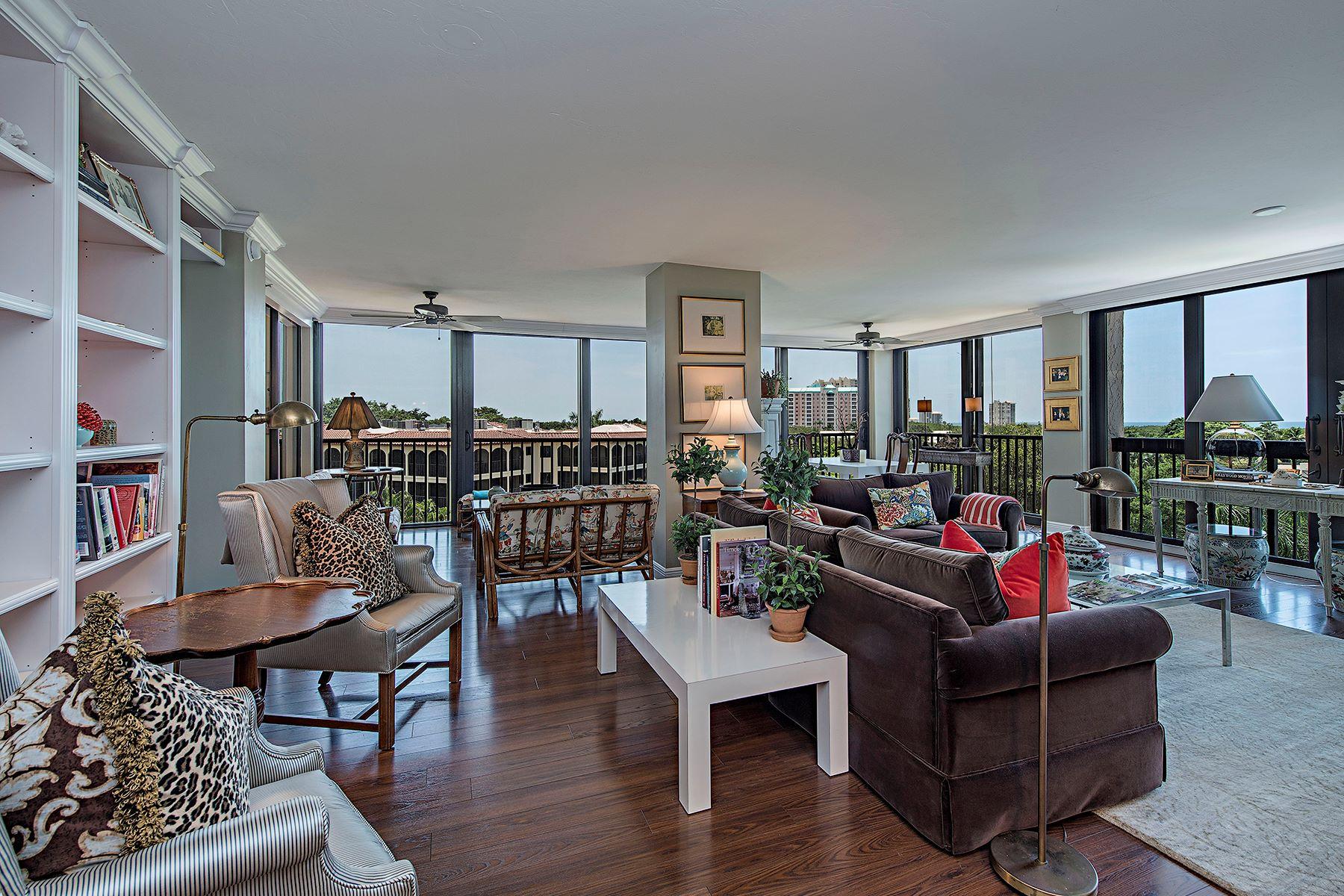 Condominium for Sale at PELICAN BAY - CHATEAUMERE 6000 Pelican Bay Blvd C-402 Naples, Florida, 34108 United States