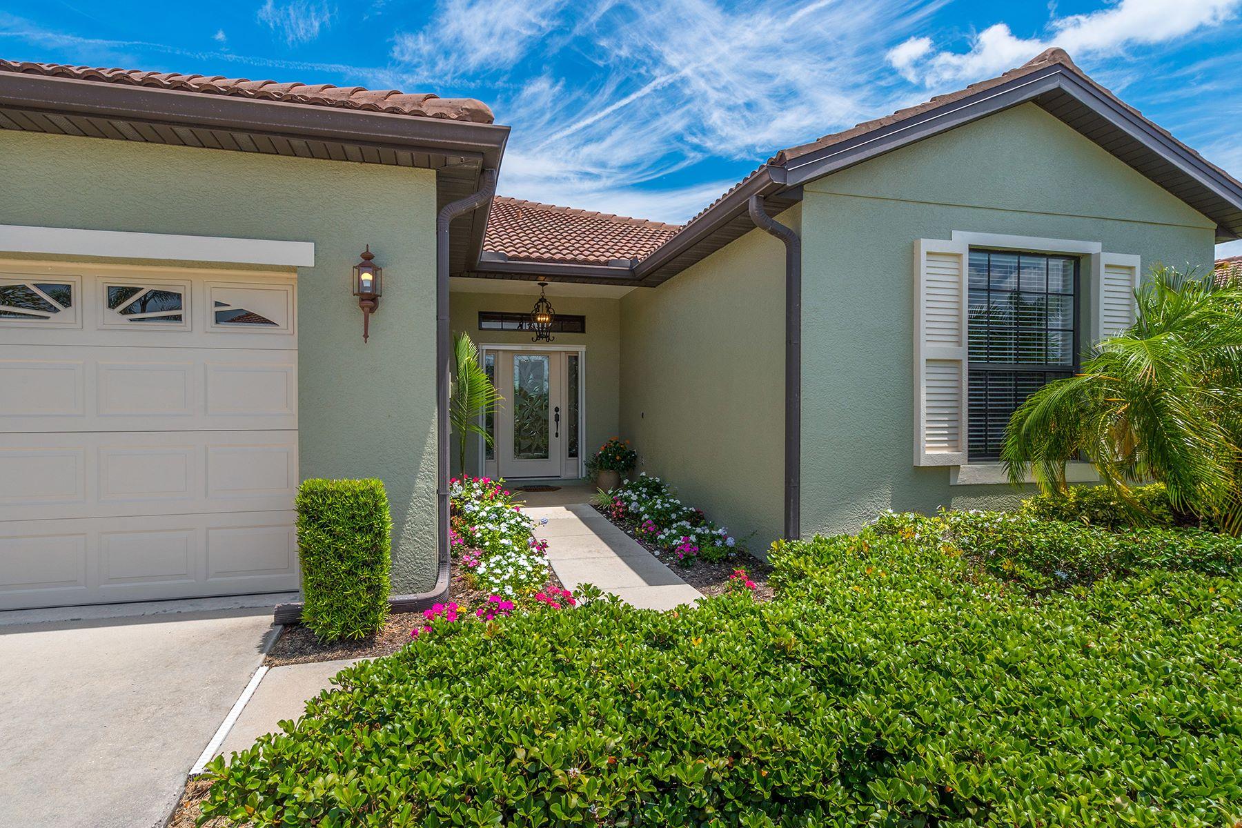 Maison en rangée pour l Vente à VENETIAN FALLS 11444 Bertolini Dr Venice, Florida, 34292 États-Unis