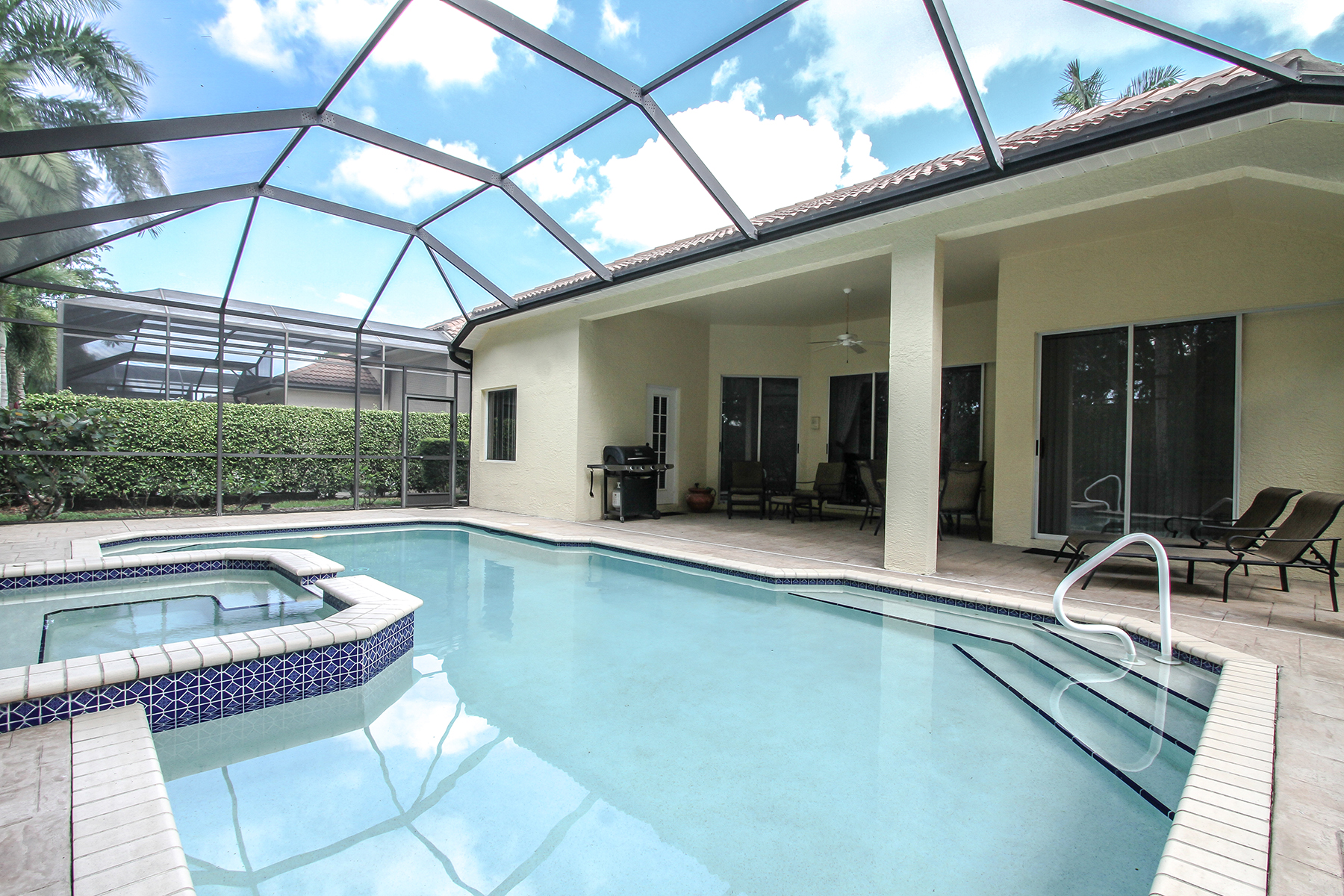 Single Family Home for Rent at PELICAN MARSH - VENTURA 8844 Ventura Way, Naples, Florida 34109 United States