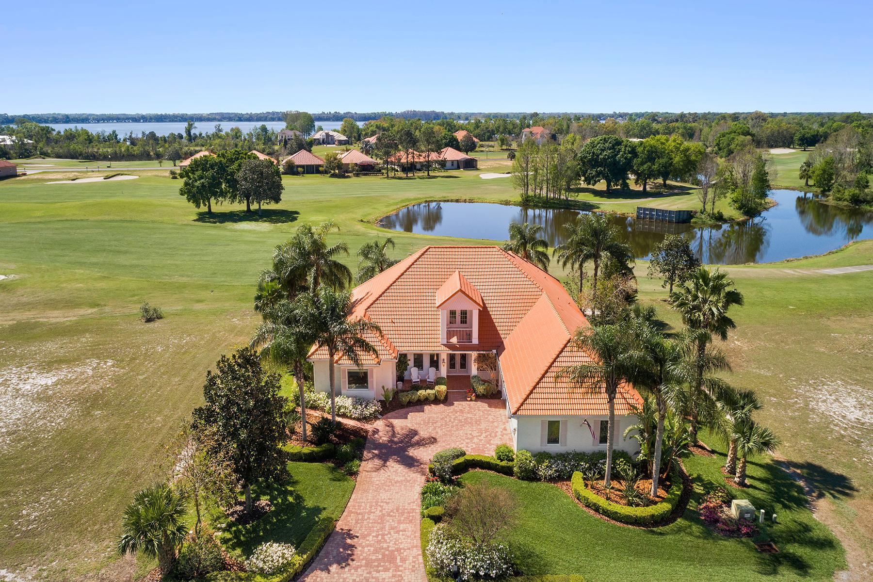 Частный односемейный дом для того Продажа на ORLANDO - TAVARES 17642 Sawgrass, Tavares, Флорида, 32778 Соединенные Штаты
