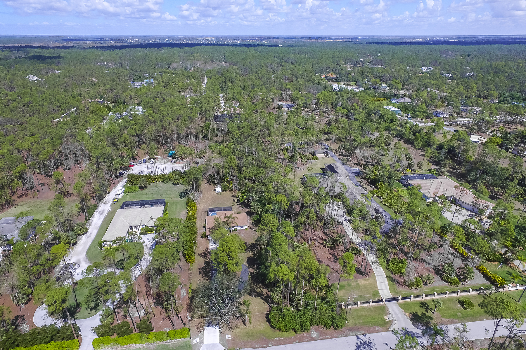 Land for Sale at LOGAN WOODS 4847 Palmetto Woods Dr, Naples, Florida 34119 United States