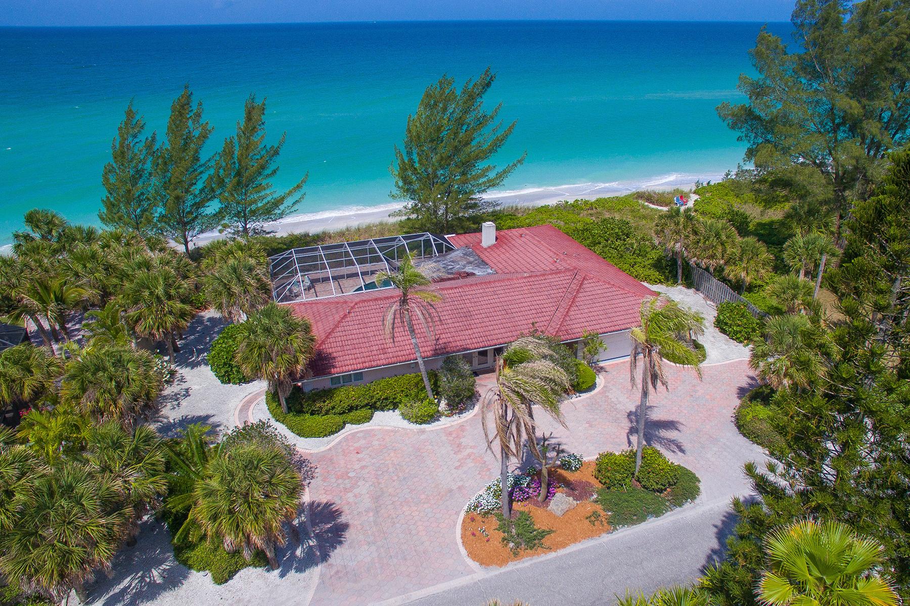 Casa para uma família para Venda às CASEY KEY 3619 Casey Key Rd Nokomis, Florida, 34275 Estados Unidos
