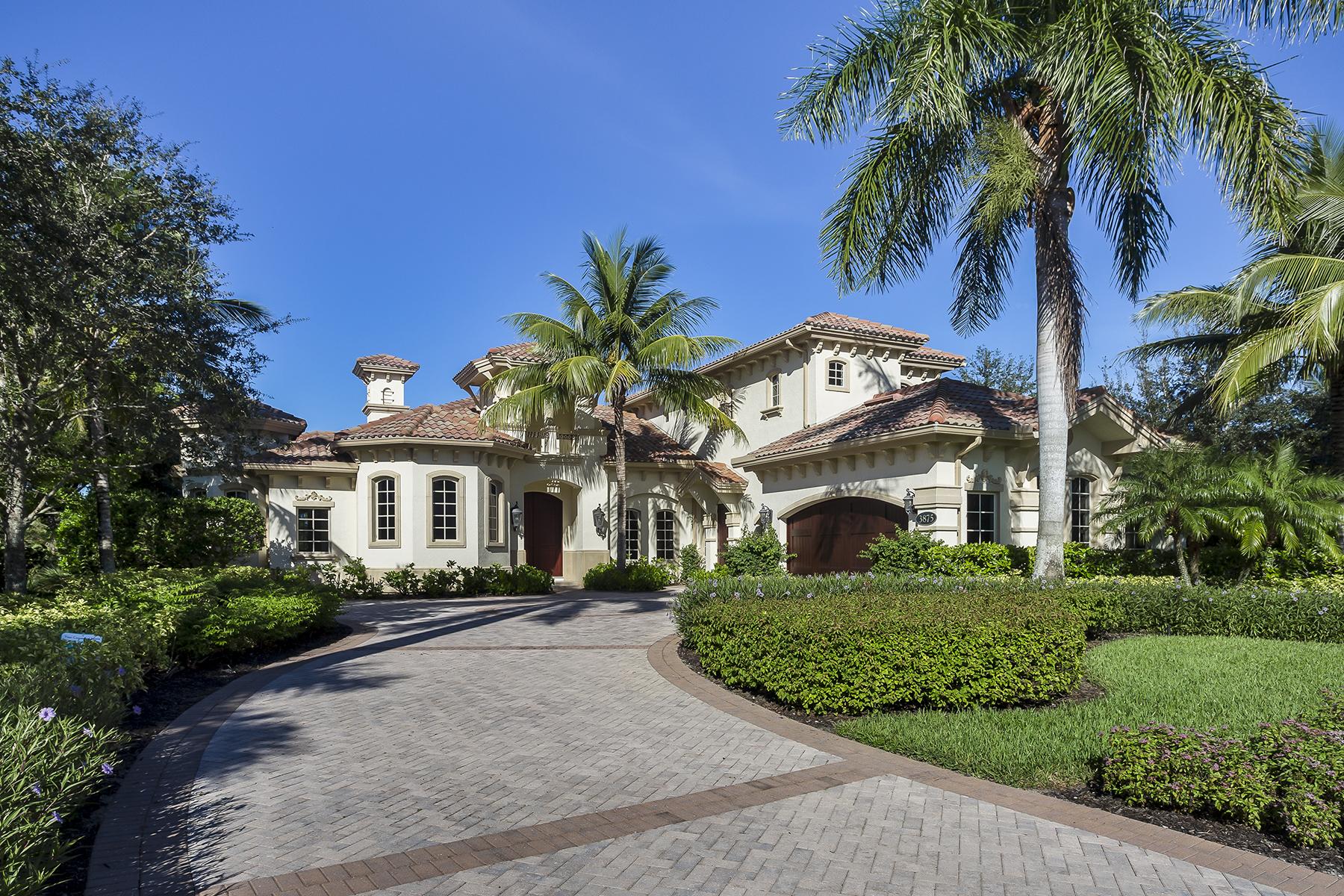 Casa Unifamiliar por un Venta en FIDDLER'S CREEK - ISLA DEL SOL 3875 Isla Del Sol Way Naples, Florida, 34114 Estados Unidos