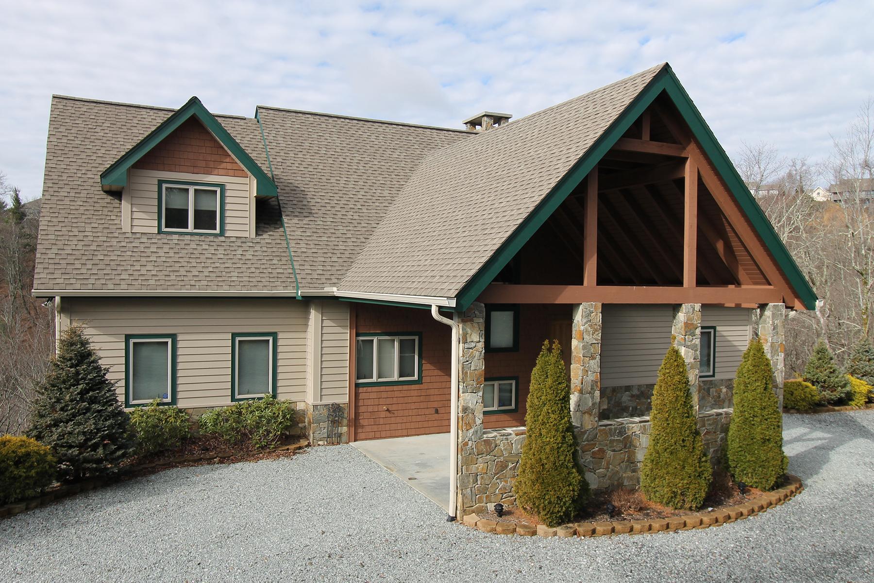 Single Family Home for Sale at BOONE - GREYSTONE IV 442 Boone Coffey Trail, Boone, North Carolina 28605 United States