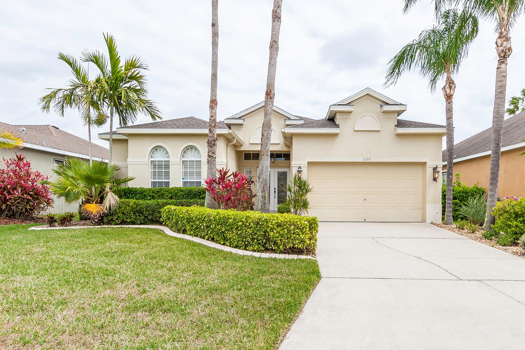 واحد منزل الأسرة للـ Sale في WELLINGTON CHASE 6359 Sturbridge Ct, Sarasota, Florida, 34238 United States