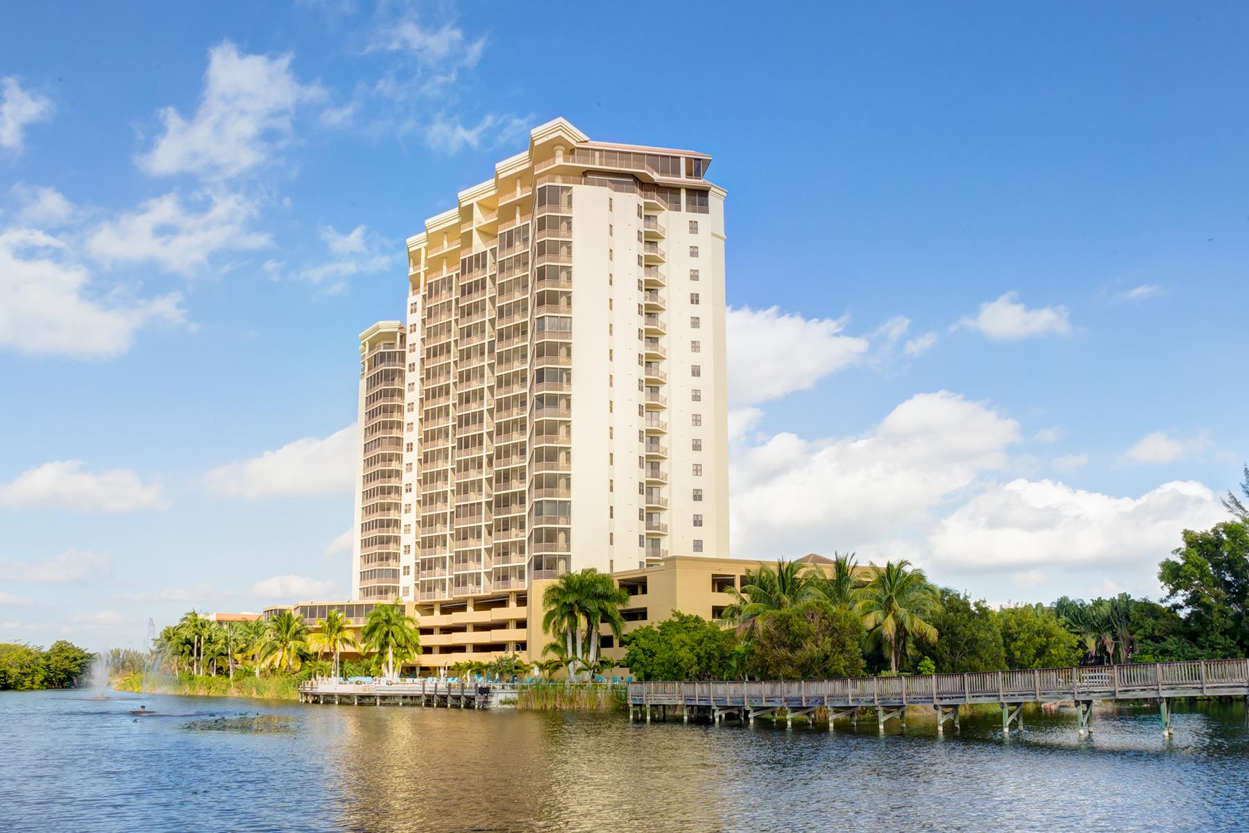 共管物業 為 出售 在 FORT MYERS 14300 Riva Del Lago Dr PH32 Fort Myers, 佛羅里達州, 33907 美國