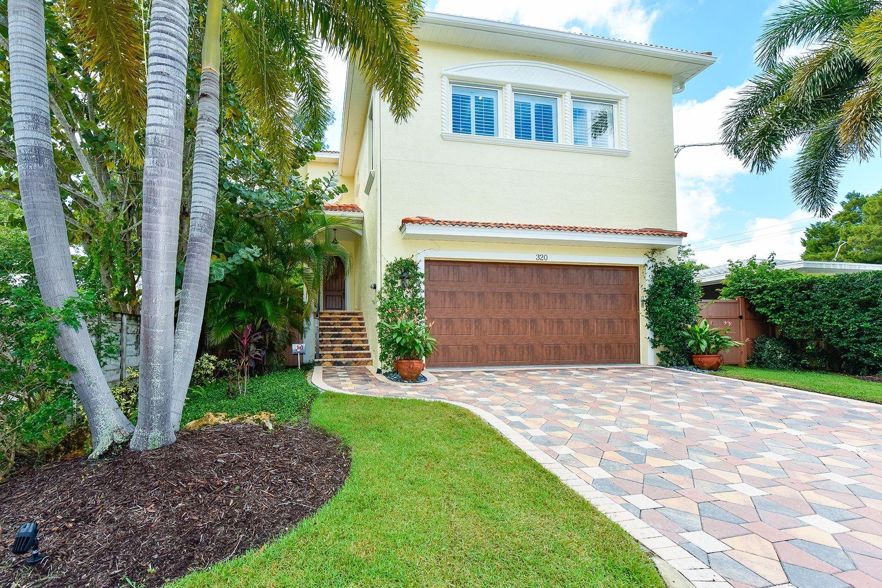 Moradia para Venda às SIESTA KEY 320 Faubel St Sarasota, Florida, 34242 Estados Unidos