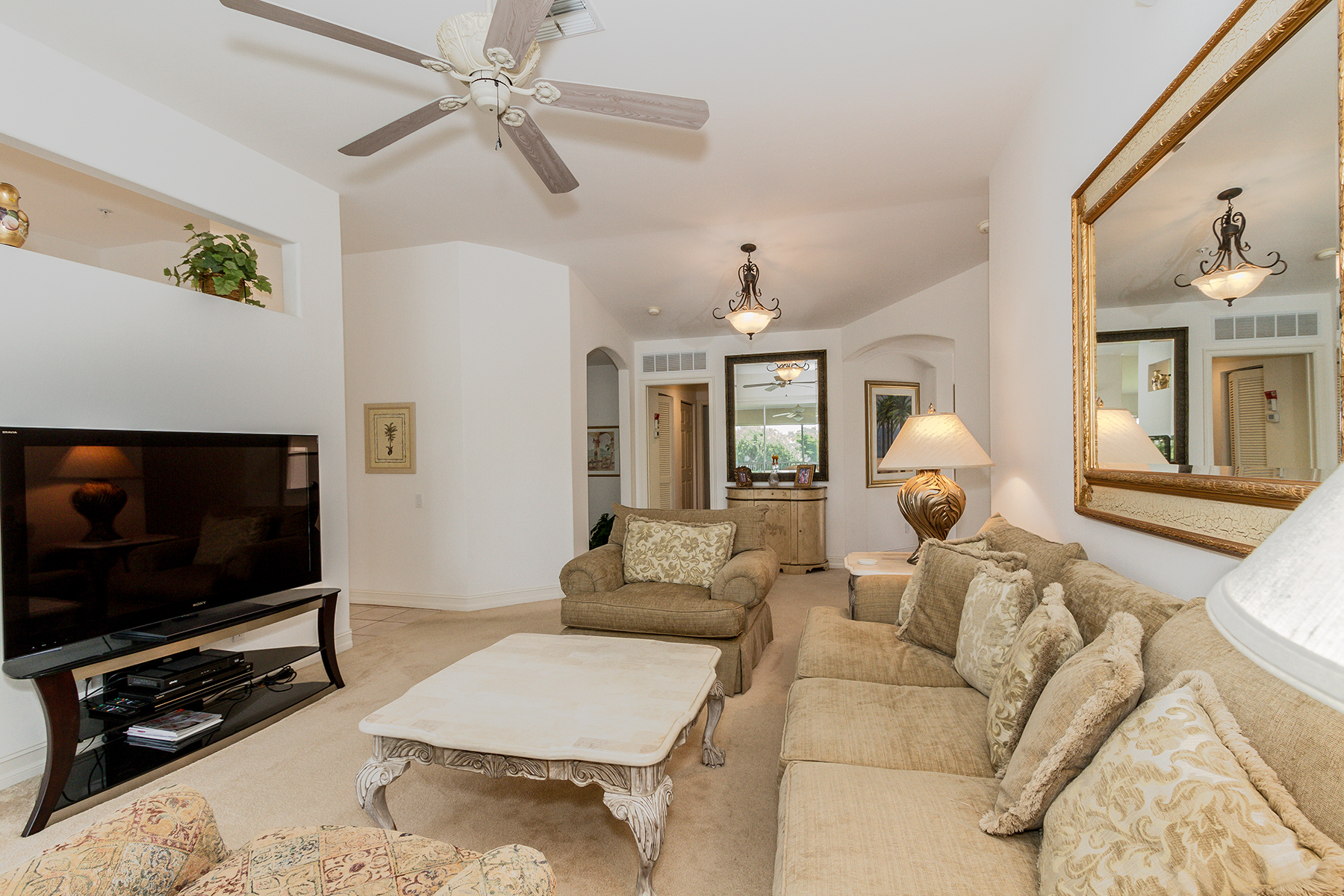 Single Family Home for Rent at TARPON COVE - BARBADOS 866 Carrick Bend Cir 202, Naples, Florida 34110 United States