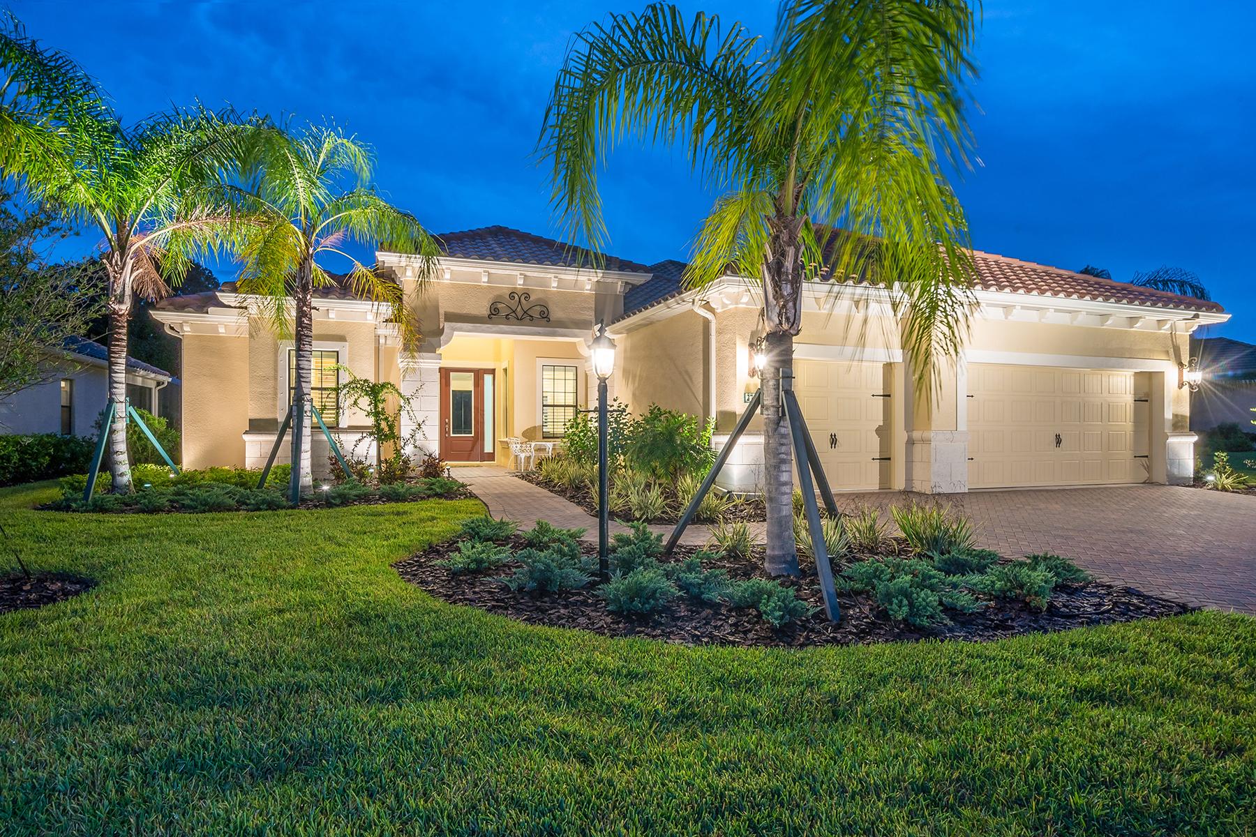 Casa Unifamiliar por un Venta en BOCA ROYALE 27441 Hole In One Pl Englewood, Florida, 34223 Estados Unidos