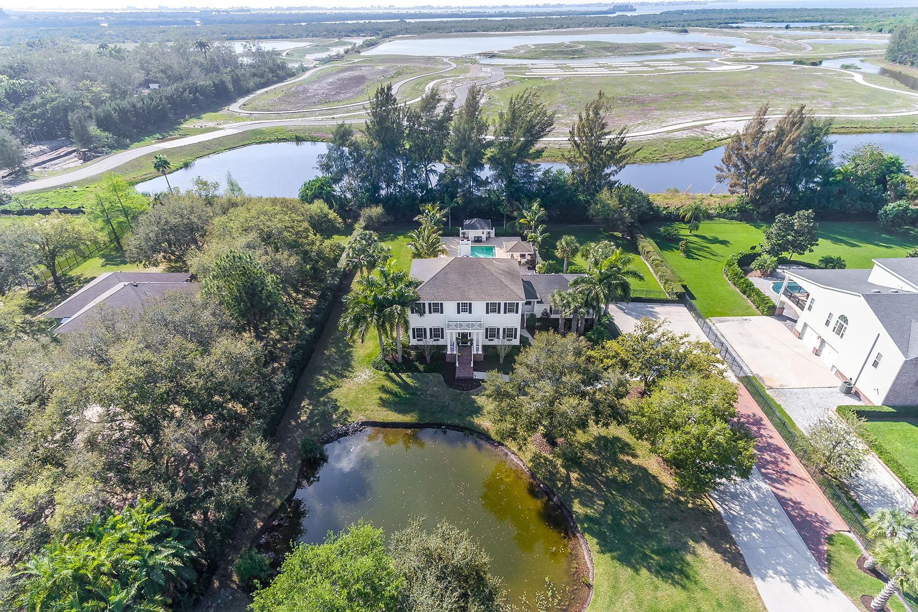 独户住宅 为 销售 在 MANATEE RIVER REGION 1002 99th St NW 布雷登顿, 佛罗里达州, 34209 美国