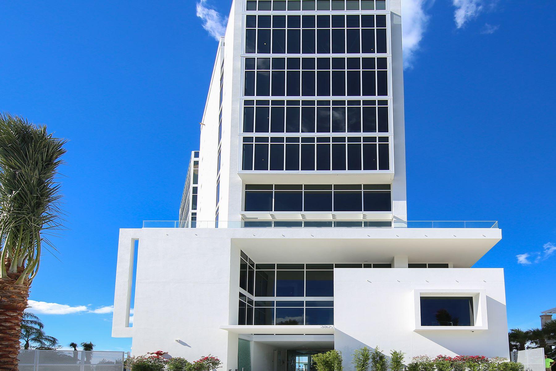 Кондоминиум для того Продажа на AQUA 280 Golden Gate Pt Grand Resid Sarasota, Флорида, 34236 Соединенные Штаты