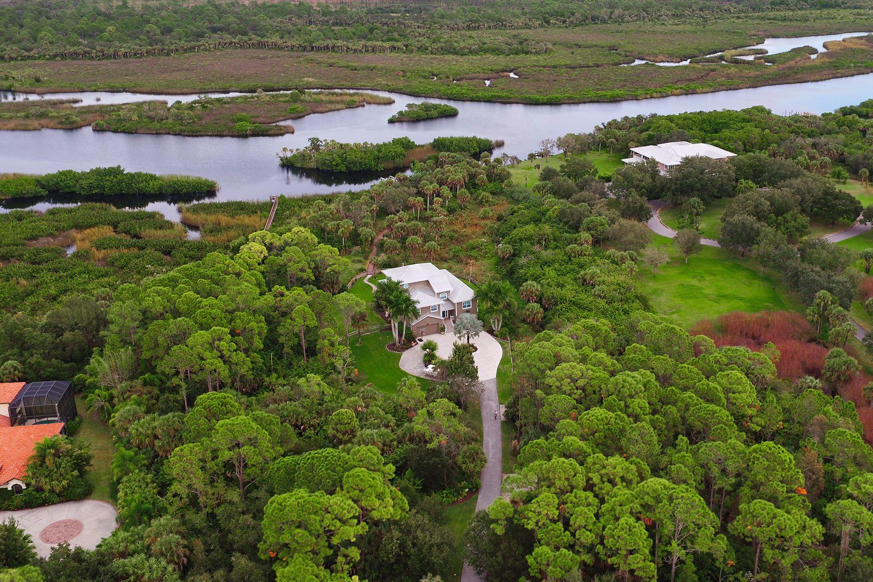 Частный односемейный дом для того Продажа на MYAKKA RIVER TRAILS 528 N River Rd Venice, Флорида, 34293 Соединенные Штаты