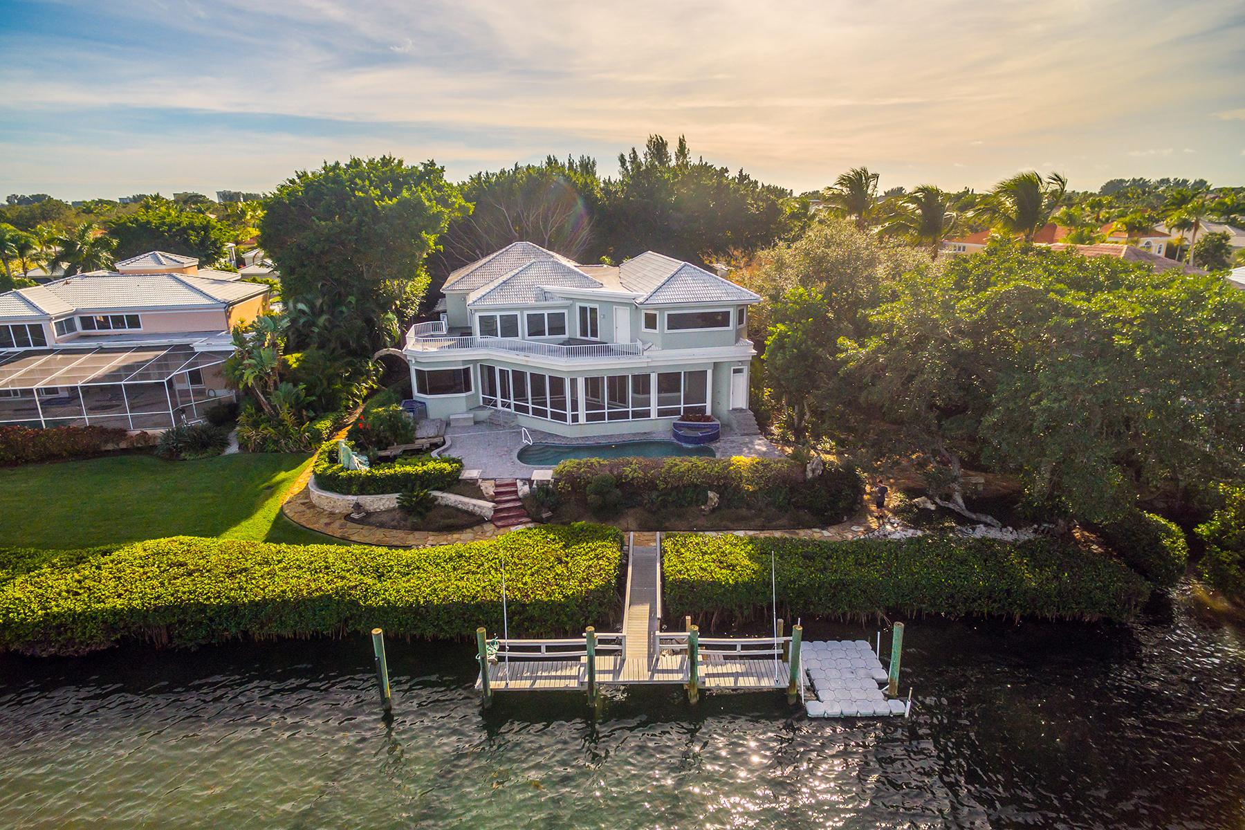 Casa Unifamiliar por un Venta en COREYS LANDING 3590 Mistletoe Ln Longboat Key, Florida, 34228 Estados Unidos