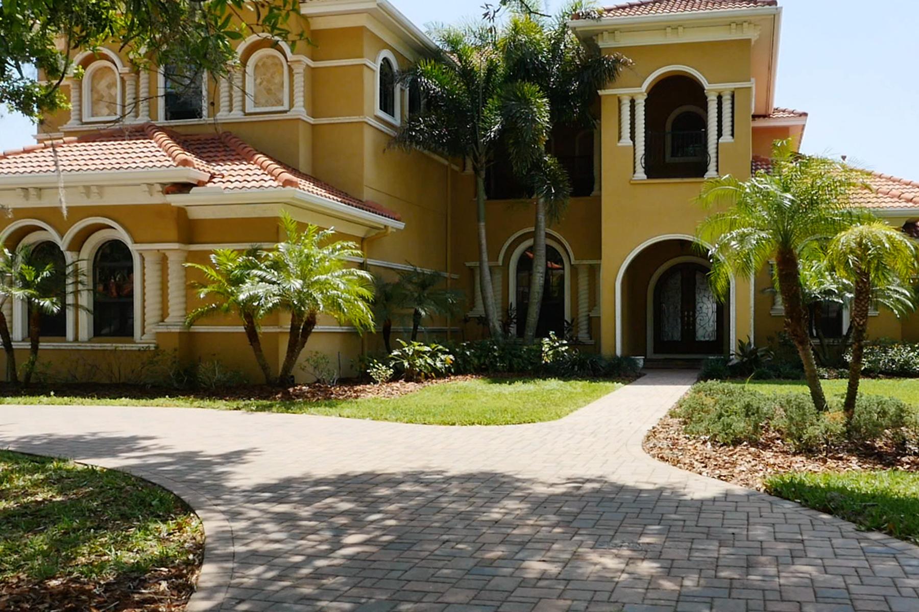 独户住宅 为 销售 在 TAMPA 9528 Tree Tops Lake Rd 坦帕市, 佛罗里达州, 33626 美国