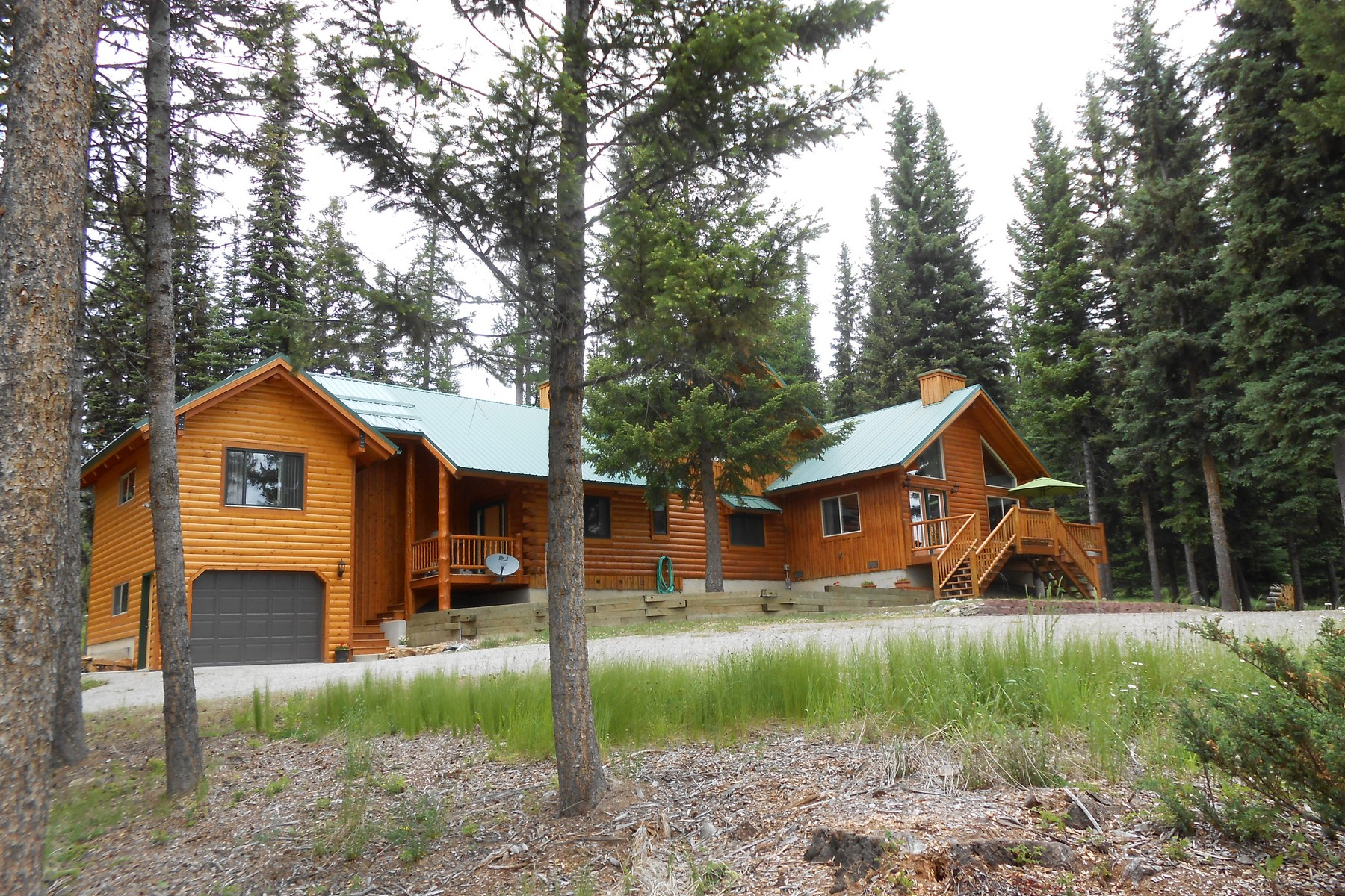 Single Family Home for Sale at Lodge-Style Home on 39 Acres 4301 Star Meadows Rd Whitefish, Montana 59937 United States