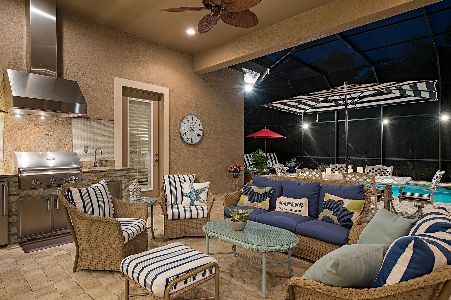 Einfamilienhaus für Verkauf beim LELY RESORT - LAKOYA 6426 Vivaldi Ct Naples, Florida, 34113 Vereinigte Staaten