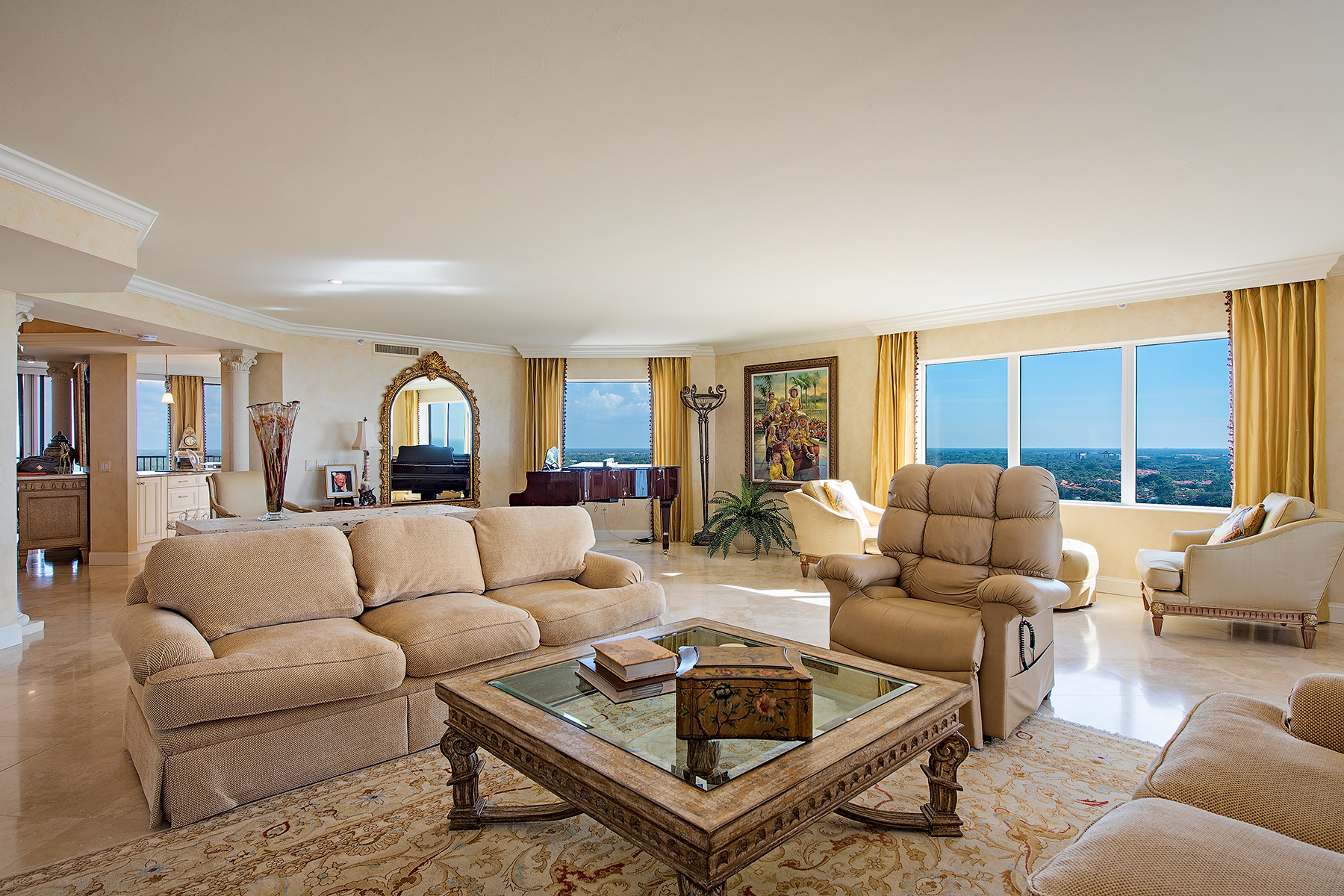 Condominium for Sale at PELICAN BAY - MARBELLA 7425 Pelican Bay Blvd 2101/2102, Naples, Florida 34108 United States
