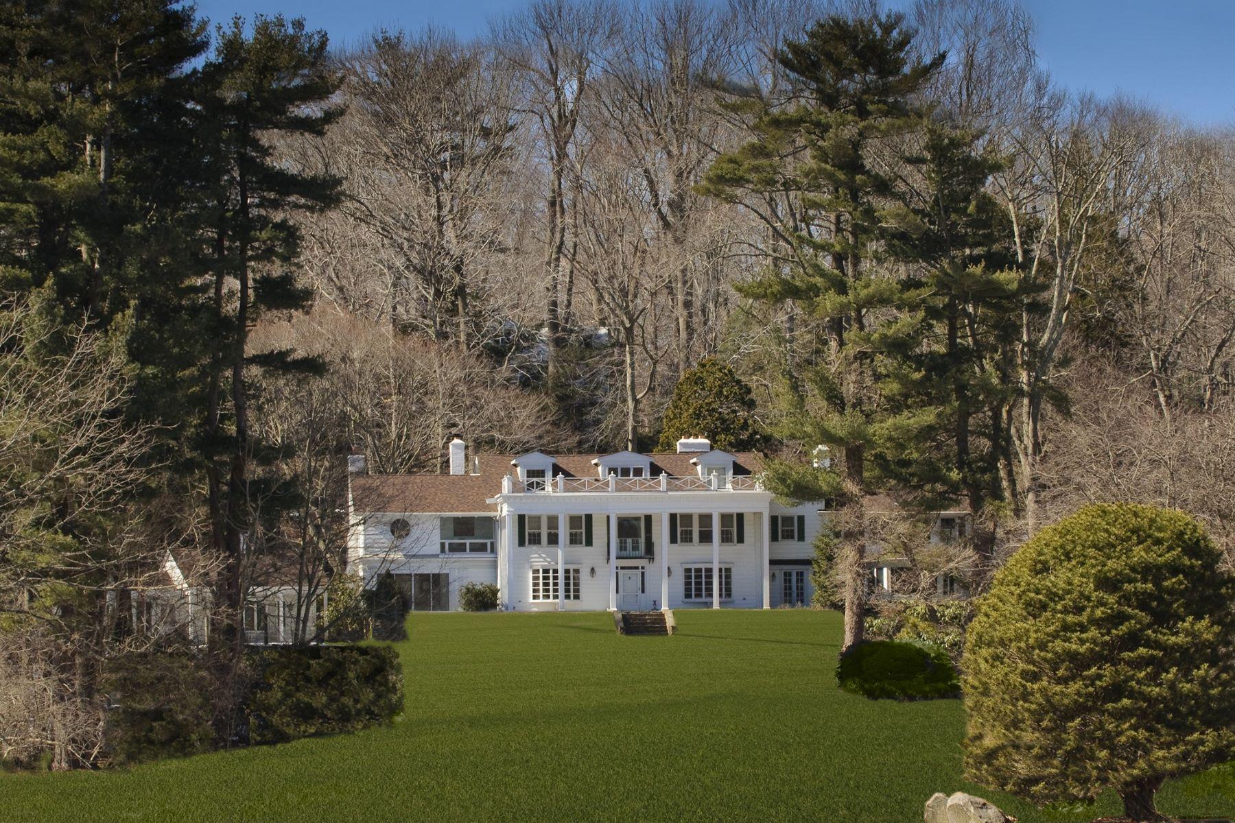 Casa Unifamiliar por un Venta en 450 Oyster Bay Rd , Matinecock, NY 11560 450 Oyster Bay Rd, Matinecock, Nueva York, 11560 Estados Unidos