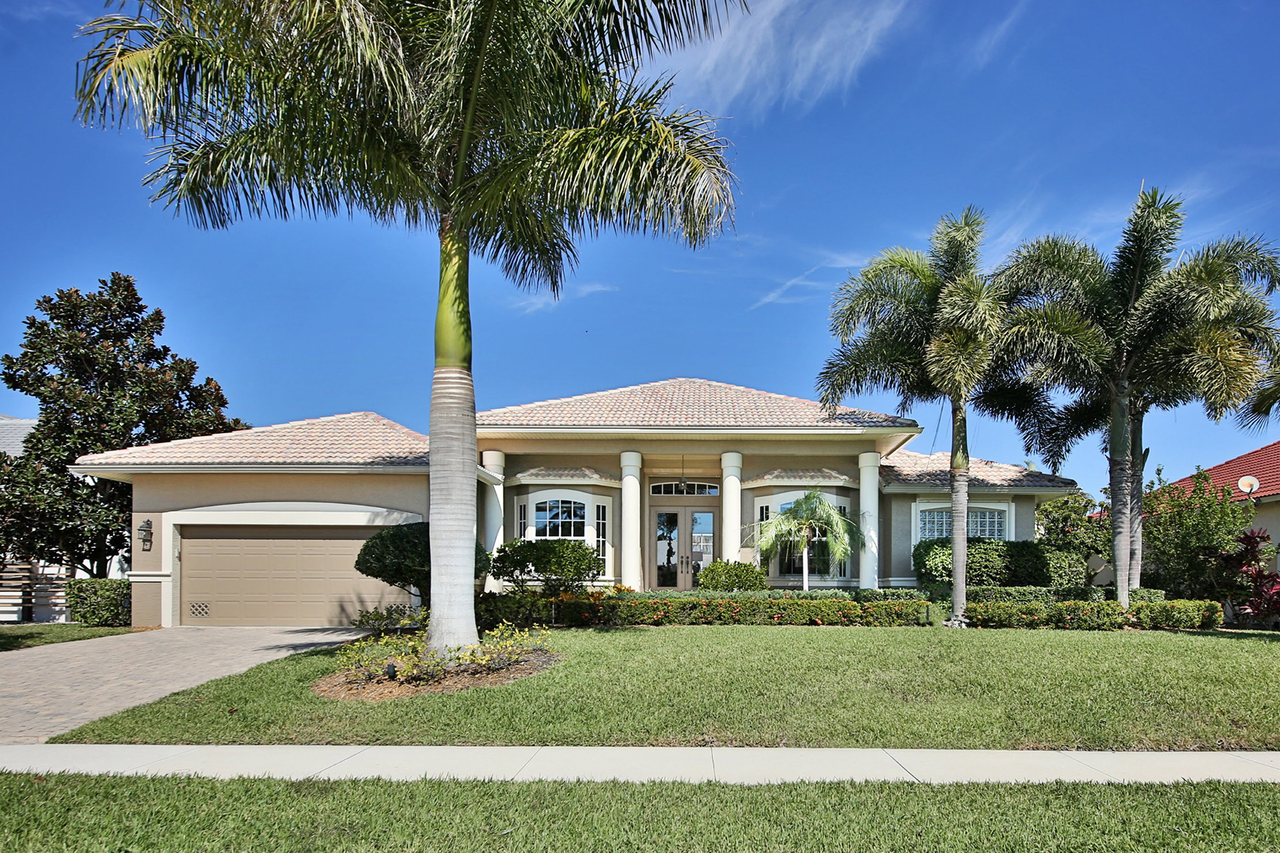Single Family Home for Sale at MARCO ISLAND 1806 Menorca Ct, Marco Island, Florida 34145 United States