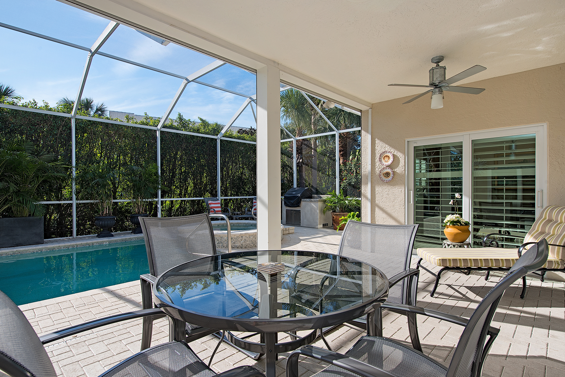 Single Family Home for Sale at PELICAN BAY - CHANTECLAIR MANOR 5925 Chanteclair Dr, Naples, Florida 34108 United States
