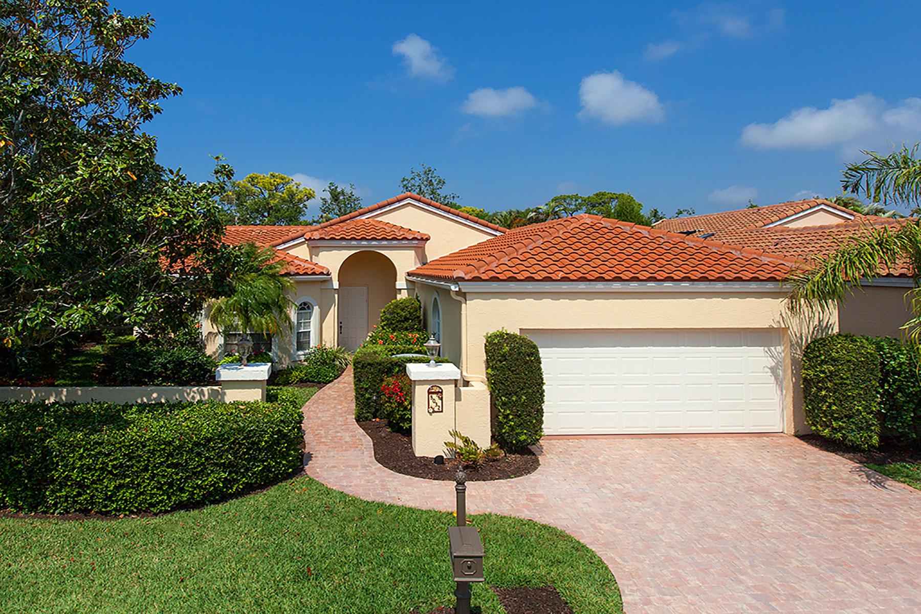 獨棟家庭住宅 為 出售 在 PRESTANCIA 8032 Via Fiore, Sarasota, 佛羅里達州, 34238 美國