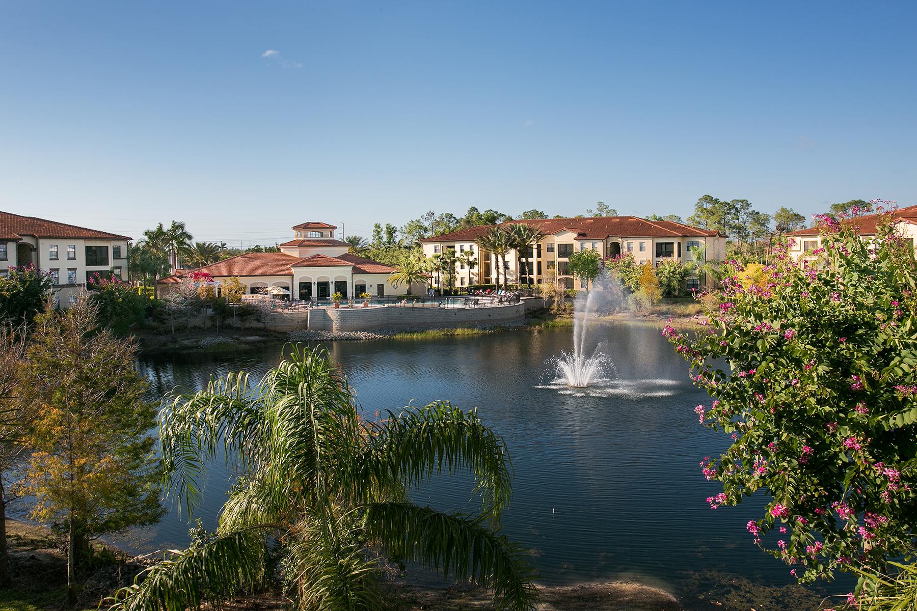 Кондоминиум для того Продажа на POSITANO PLACE 12990 Positano Cir 201, Naples, Флорида, 34105 Соединенные Штаты