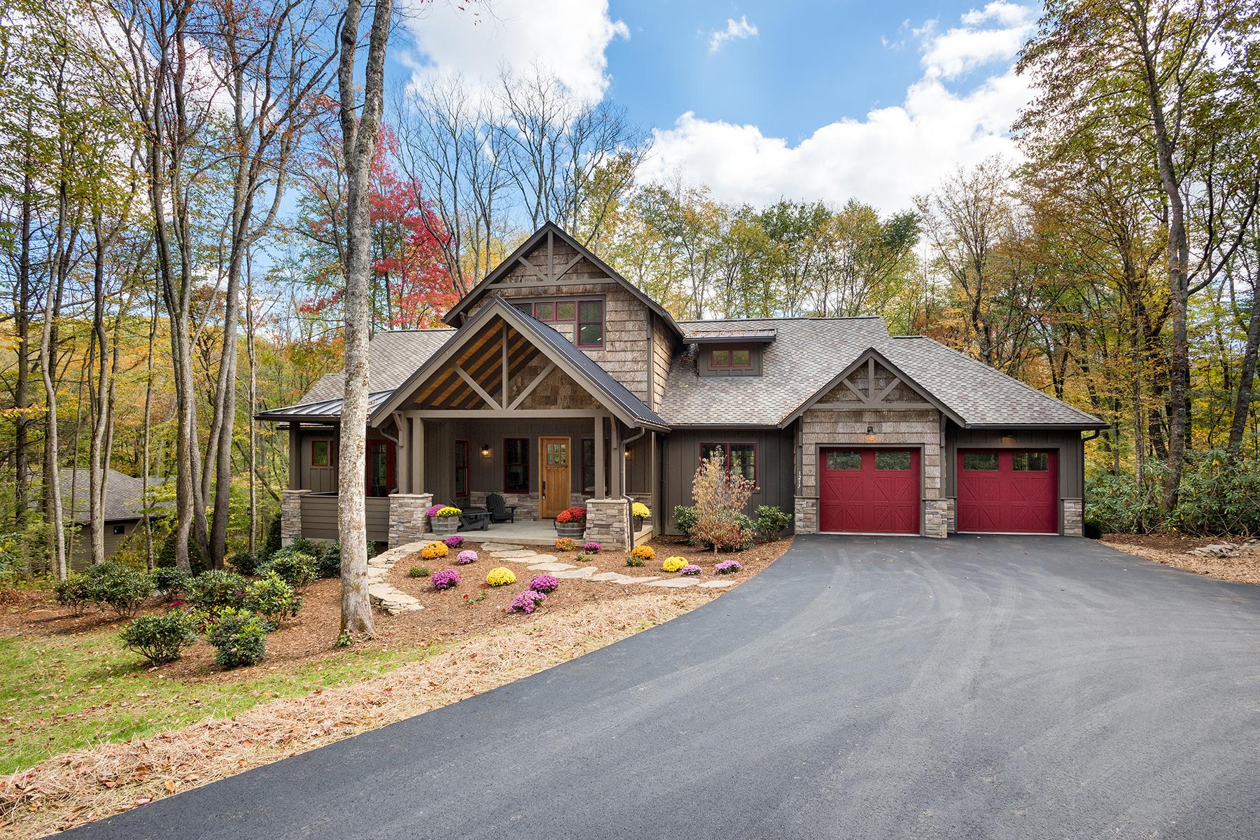 独户住宅 为 销售 在 LINVILLE - LINVILLE RIDGE 1216 Cranberry Trail 12 林维尔, 北卡罗来纳州, 28646 美国