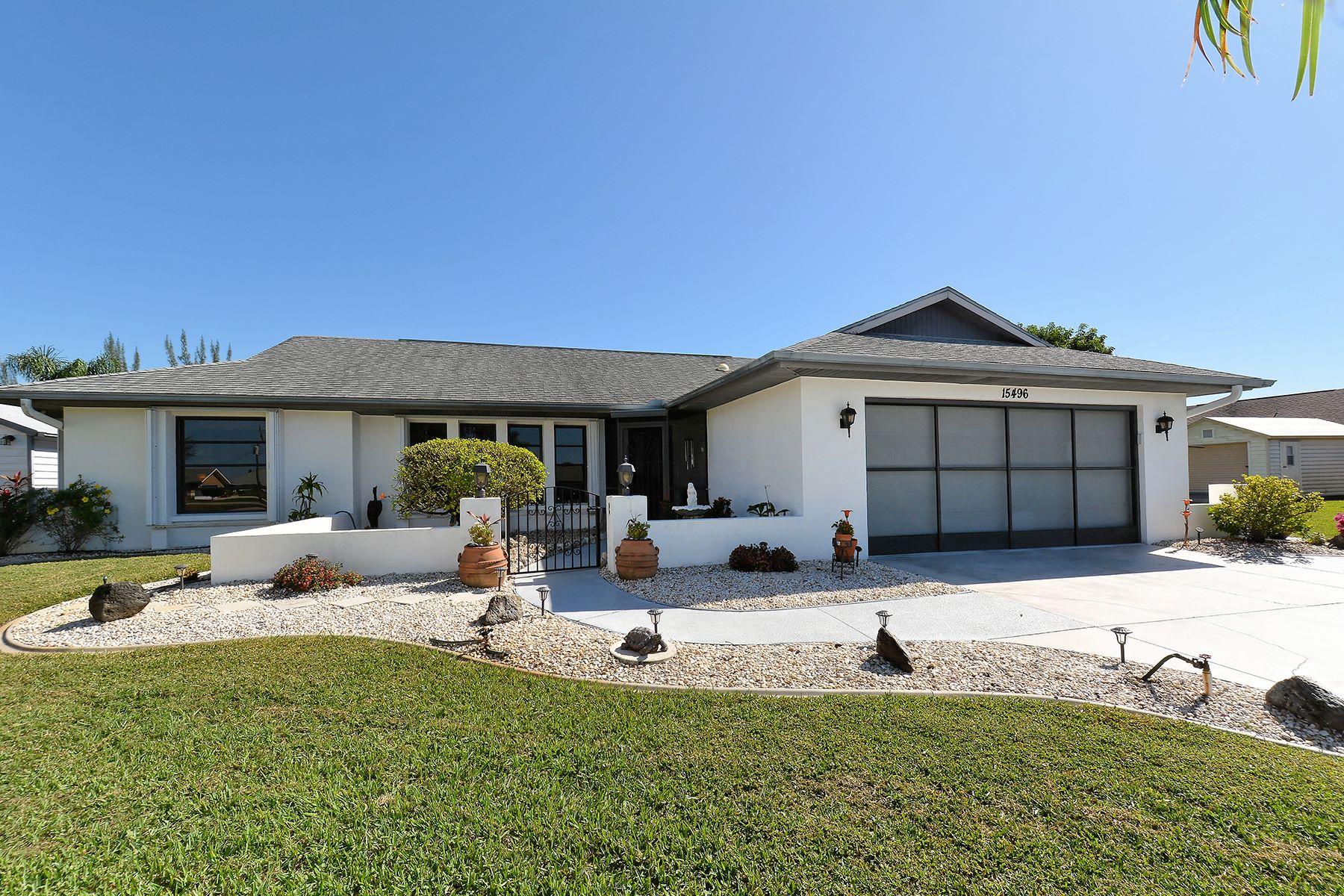 一戸建て のために 売買 アット SOUTH GULF COVE 15496 Avery Rd Port Charlotte, フロリダ, 33981 アメリカ合衆国