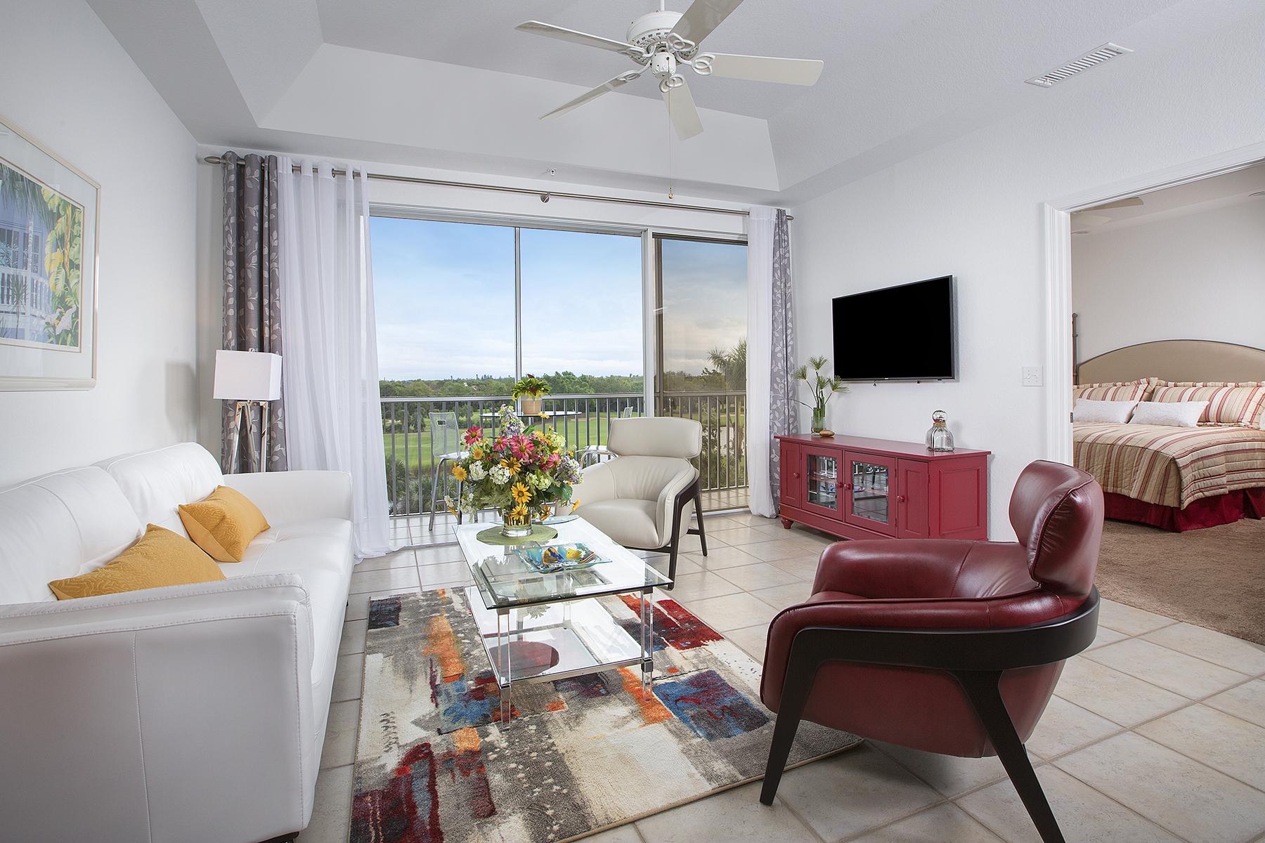 Condominium for Sale at Naples 7671 Pebble Creek Cir 402, Pelican Bay, Naples, Florida, 34108 United States