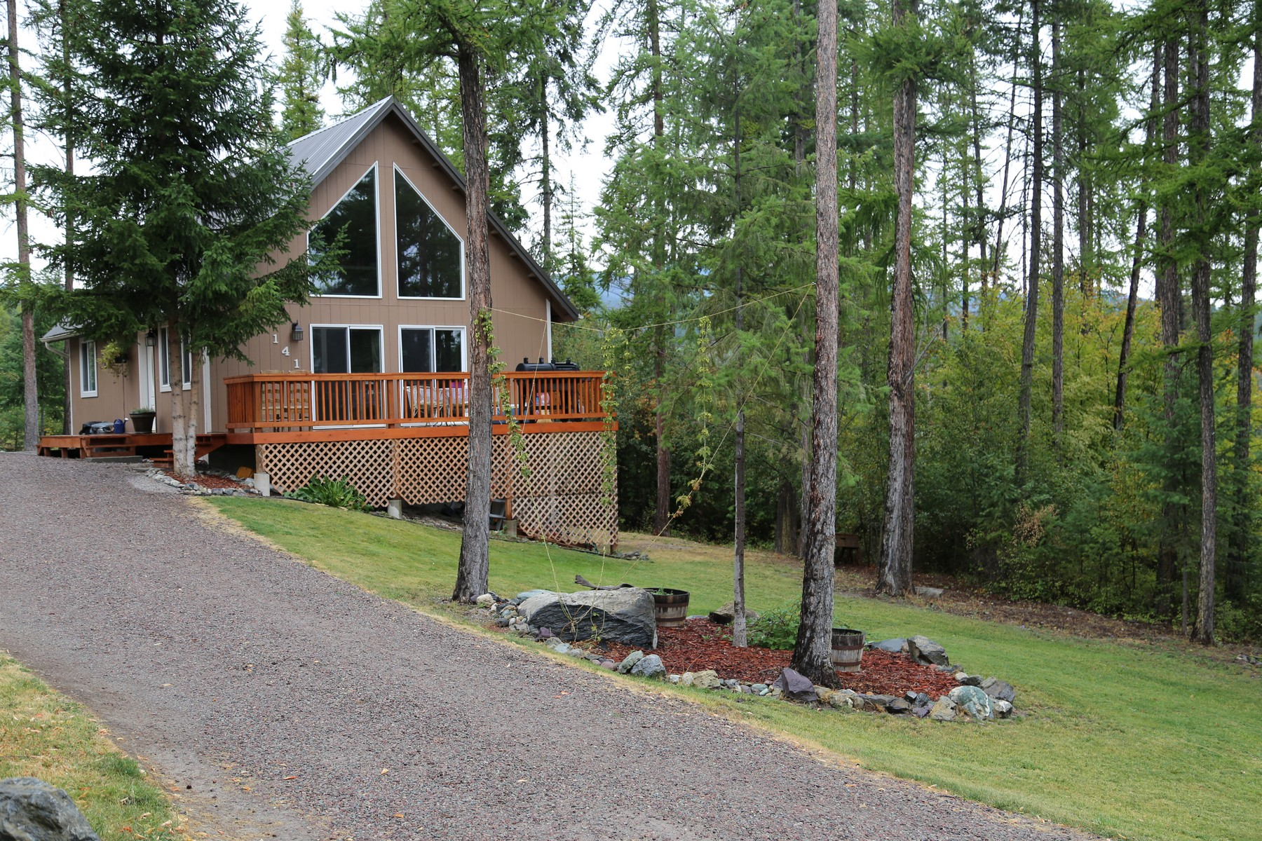 Single Family Home for Sale at 141 Tamarack Woods Dr , Lakeside, MT 59922 141 Tamarack Woods Dr Lakeside, Montana 59922 United States